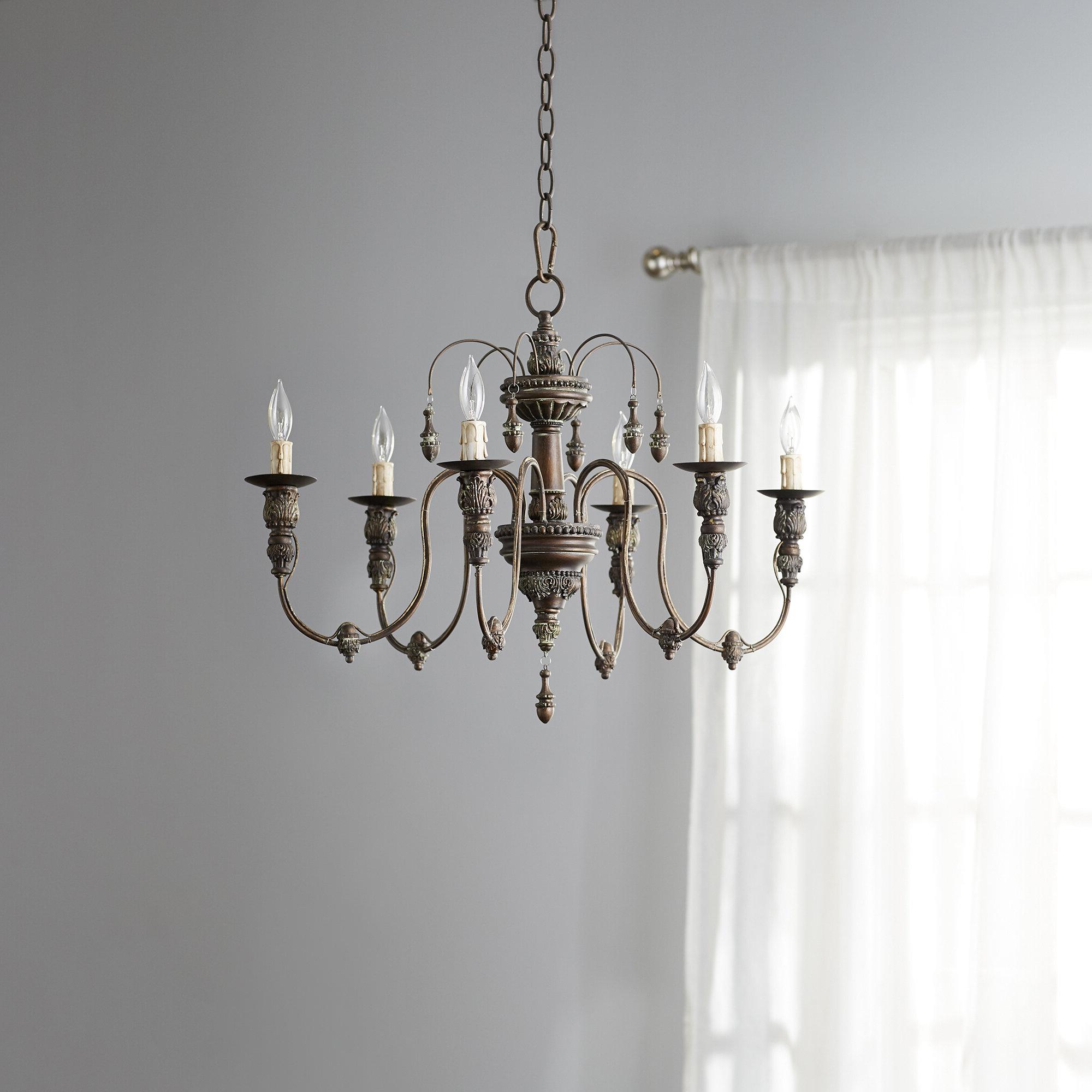 Paladino 6 Light Chandeliers Pertaining To Trendy Paladino 6 Light Chandelier (Gallery 5 of 20)