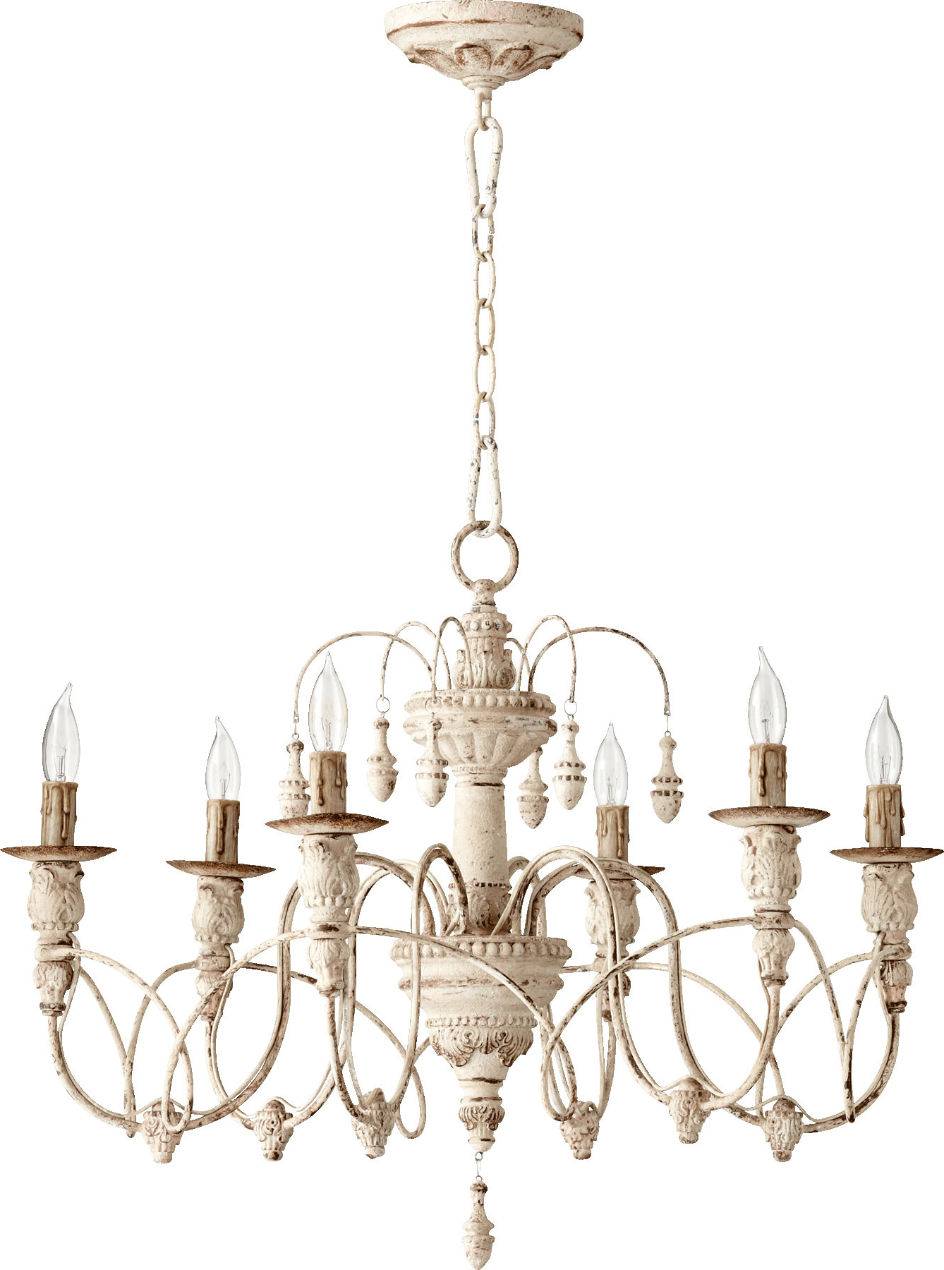 Paladino 6 Light Chandeliers Within Current Paladino 6 Light Candle Style Chandelier (Gallery 2 of 20)