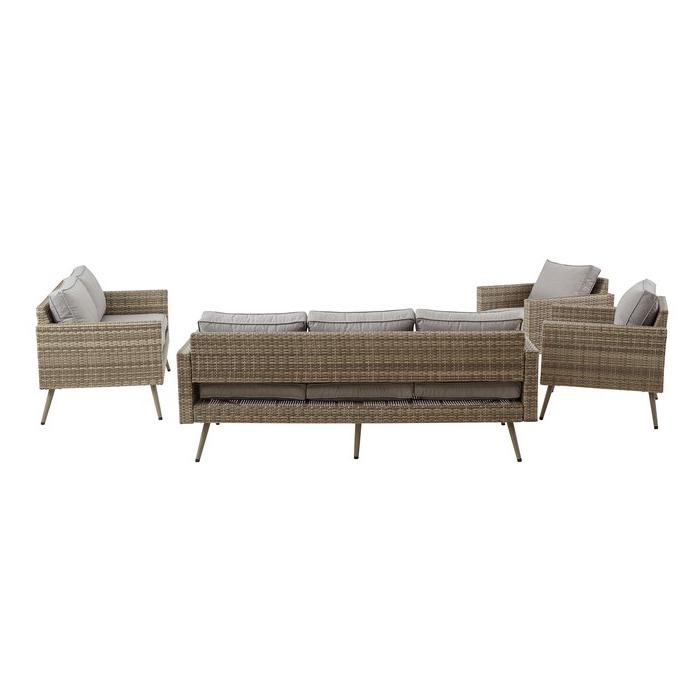 Pantano Loveseat With Cushions Regarding 2019 Pantano Loveseats With Cushions (View 6 of 20)
