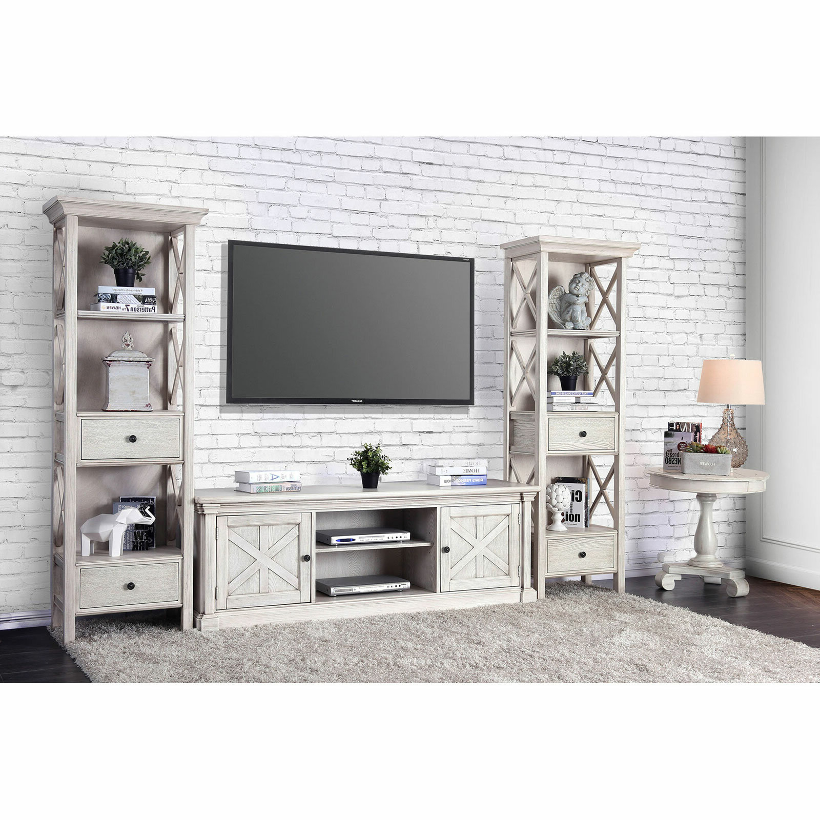 "Parmelee Tv Stands For Tvs Up To 65"" Intended For Well Known Leandra Tv Stand For Tvs Up To 70"" (Gallery 18 of 20)"