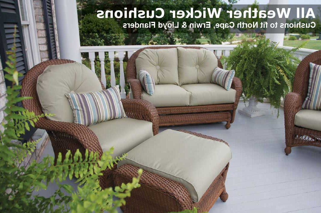 Patio Sofas With Cushions In 2019 Outdoor Patio Chair & Furniture Cushions (Gallery 4 of 20)