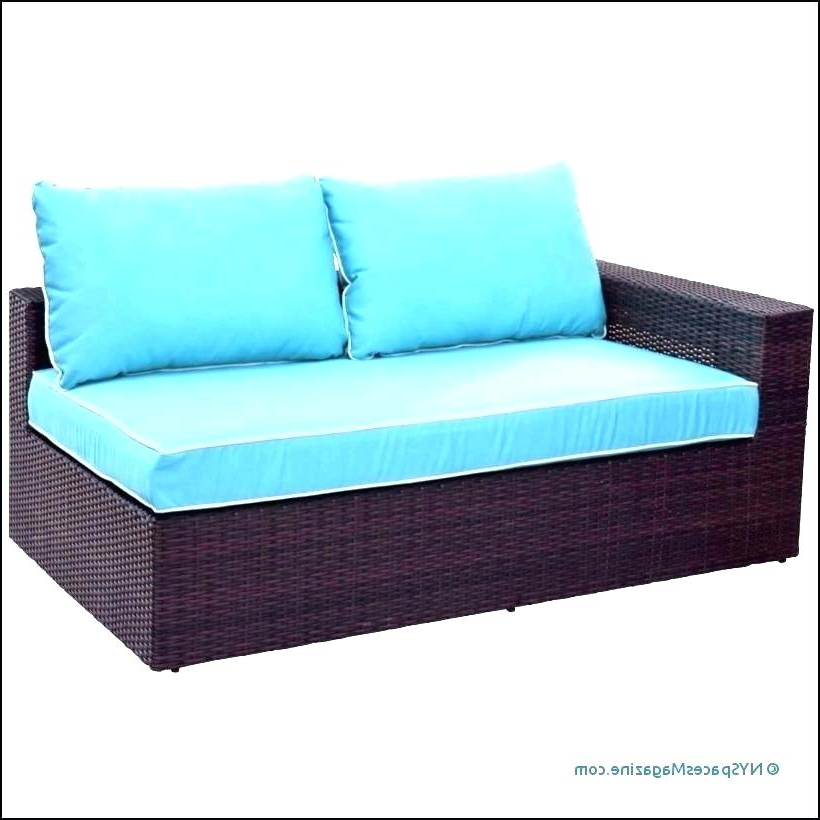 Patio Sofas With Cushions Intended For Popular Patio Chair Cushions Outdoor – Waterstewards (Gallery 20 of 20)