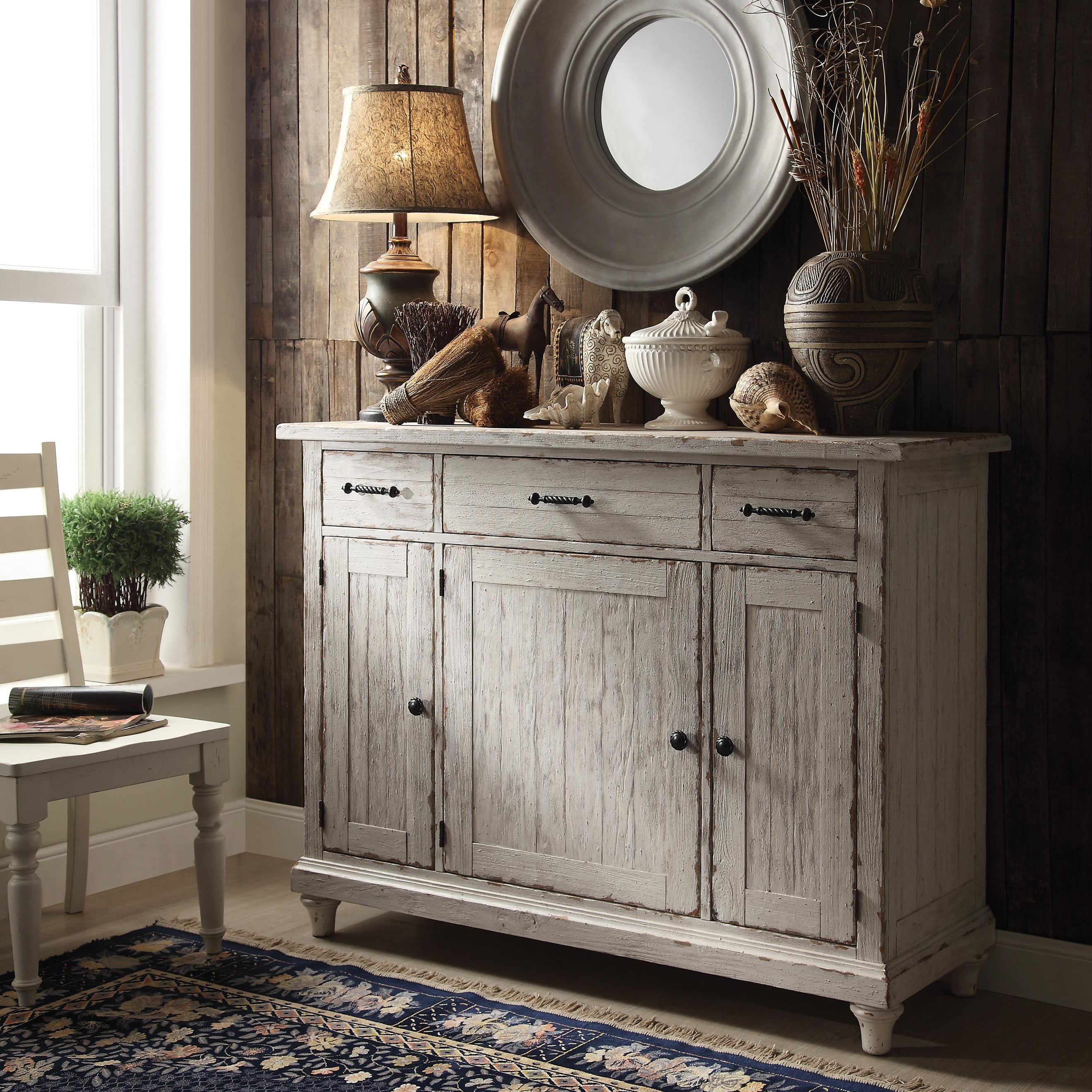 Payton Serving Sideboards Regarding Newest Farmhouse & Rustic Sideboards & Buffets (View 18 of 20)