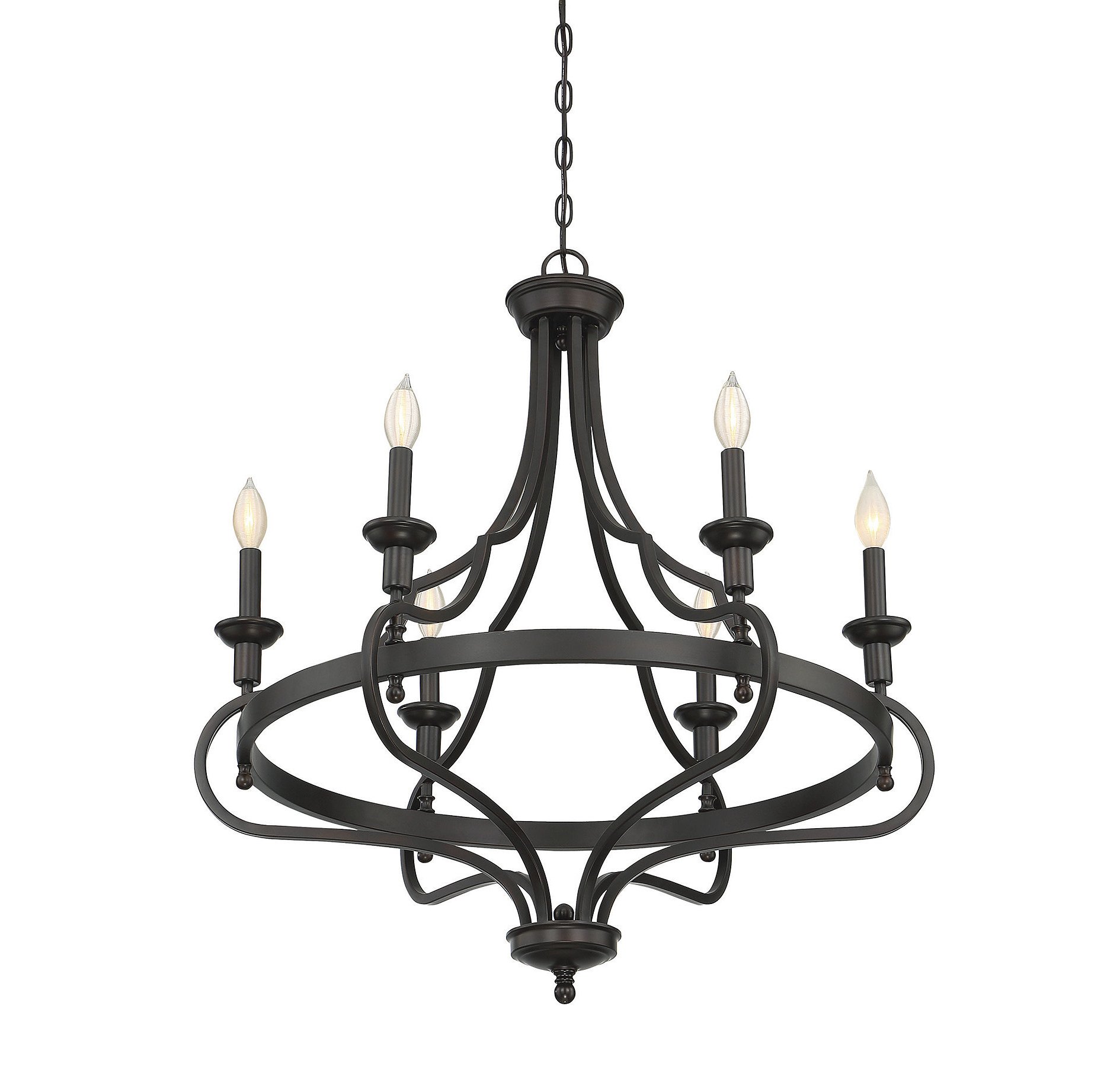 Perseus 6 Light Candle Style Chandeliers Intended For 2020 Jaycee 6 Light Chandelier (View 17 of 20)