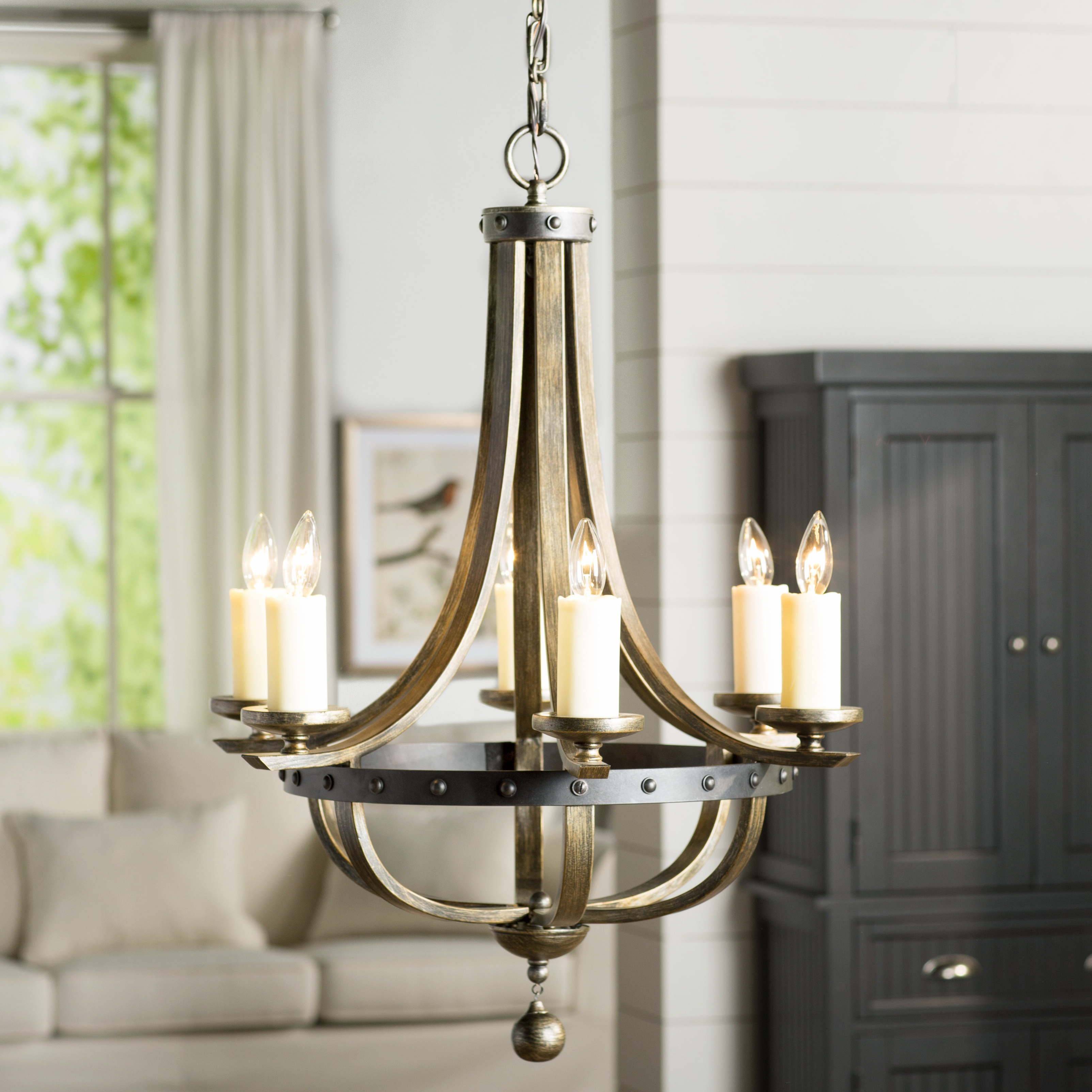 Phifer 6 Light Empire Chandeliers Throughout Most Current Betty Jo 6 Light Empire Chandelier (Gallery 9 of 20)