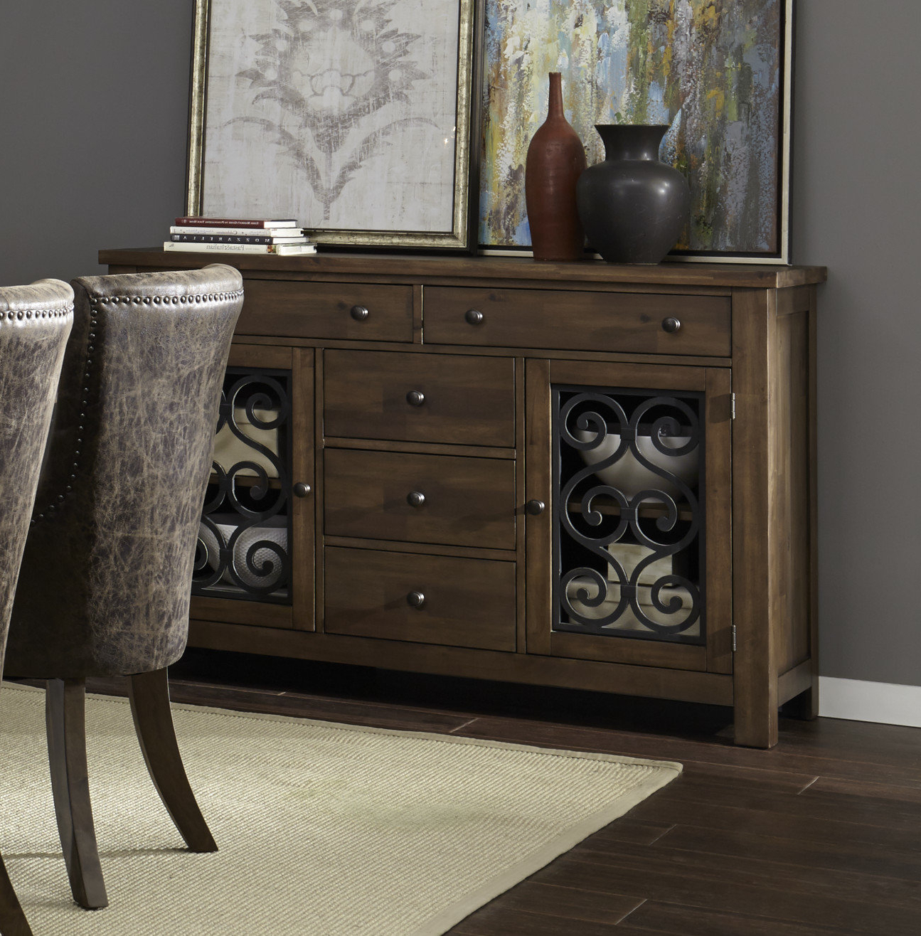 Phyllis Sideboards With Widely Used Burmeister Storage Sideboard (View 13 of 20)