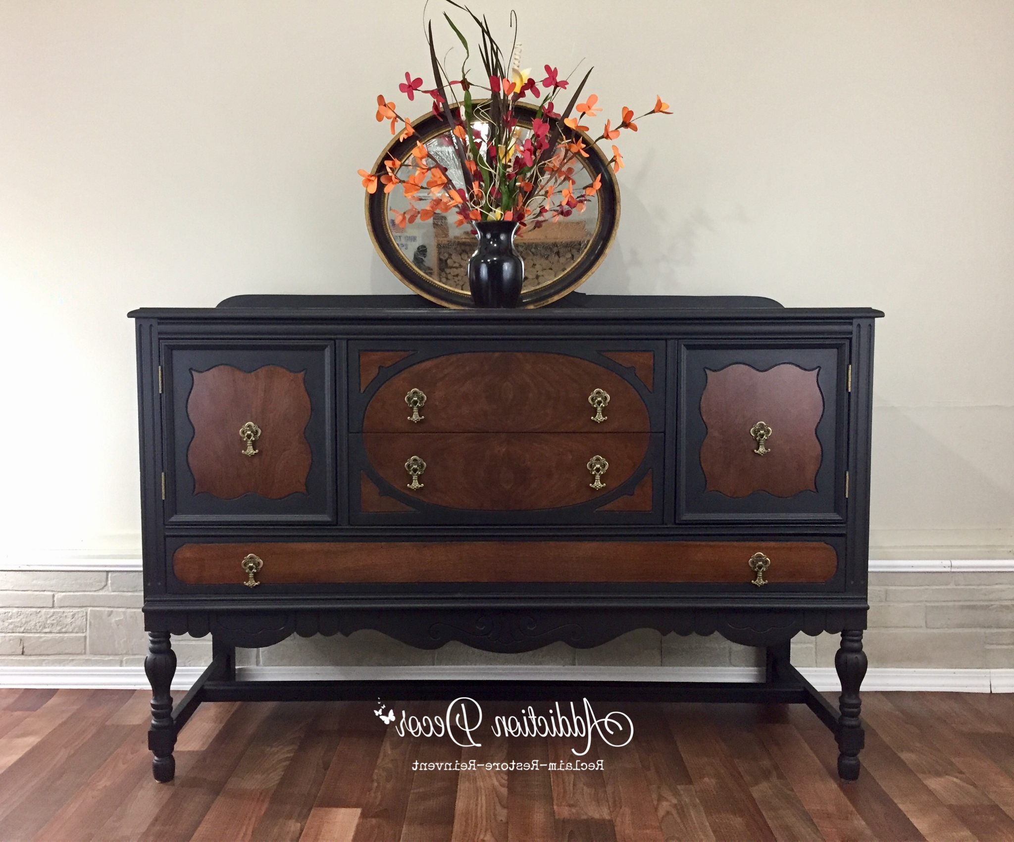 Pin On Antique Sideboards Throughout Trendy Deana Credenzas (View 18 of 20)