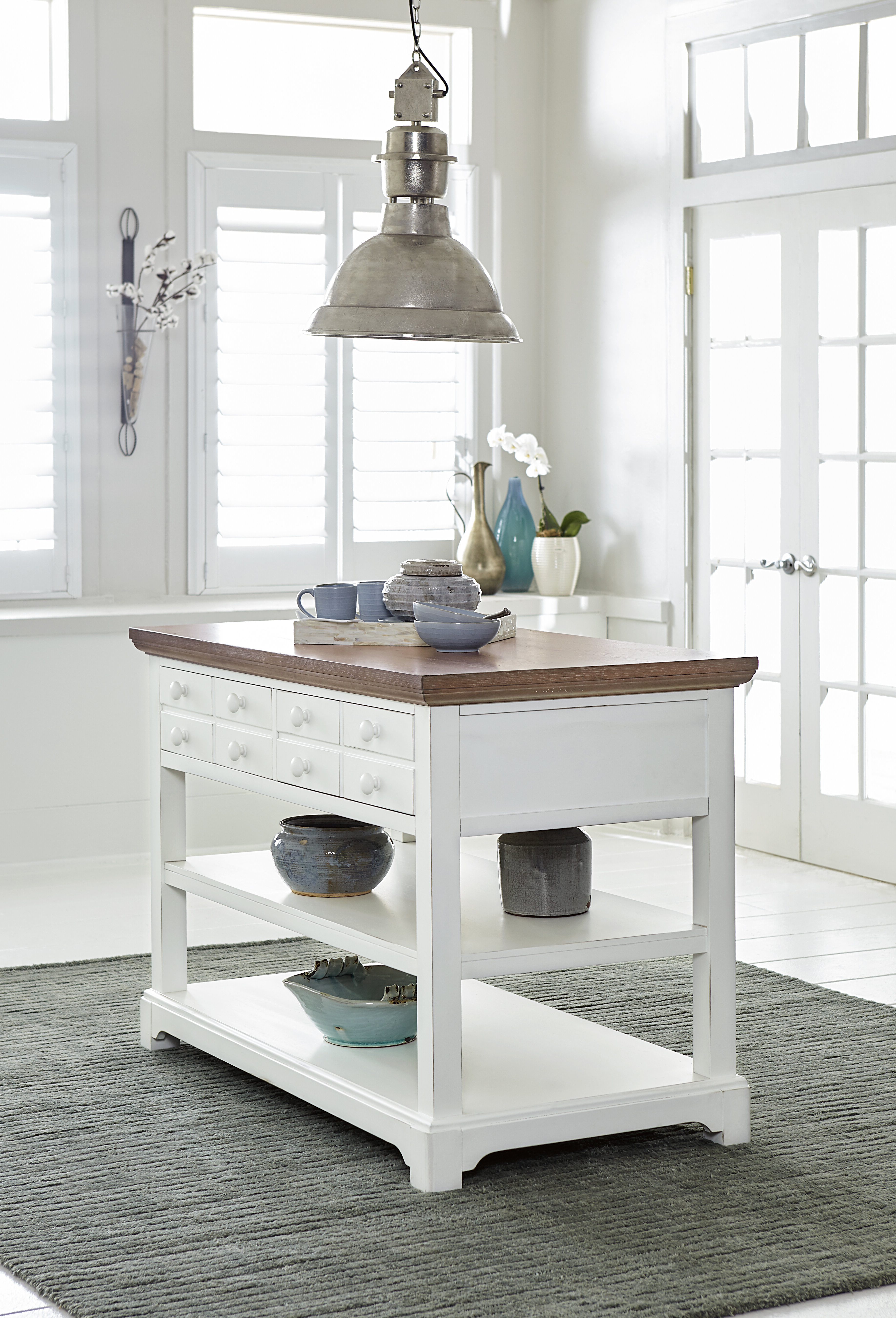 Pineville Dining Sideboards For Widely Used Pineville Kitchen Island (View 7 of 20)