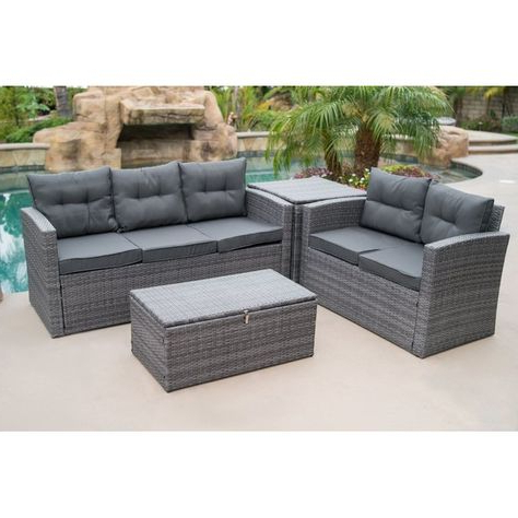 Pinterest Intended For Preferred Rowley Patio Sofas Set With Cushions (Gallery 3 of 20)