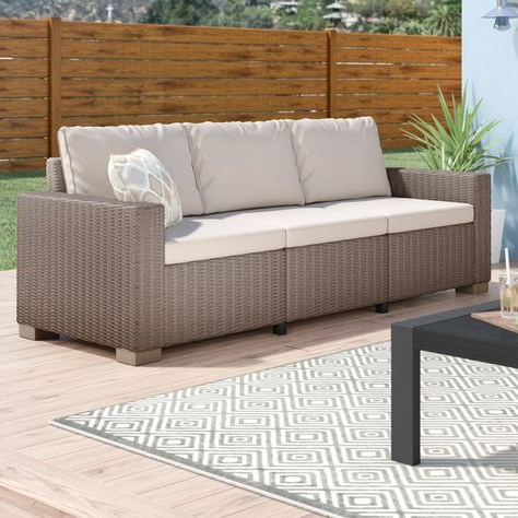 Pinterest With Regard To Famous Yoselin Patio Sofas With Cushions (View 11 of 20)