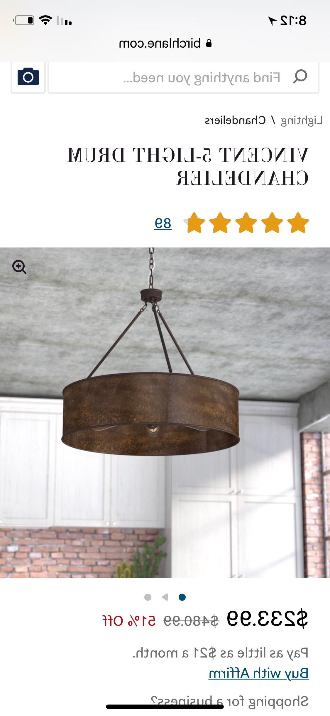 Pinterest Within Vincent 5 Light Drum Chandeliers (Gallery 12 of 20)