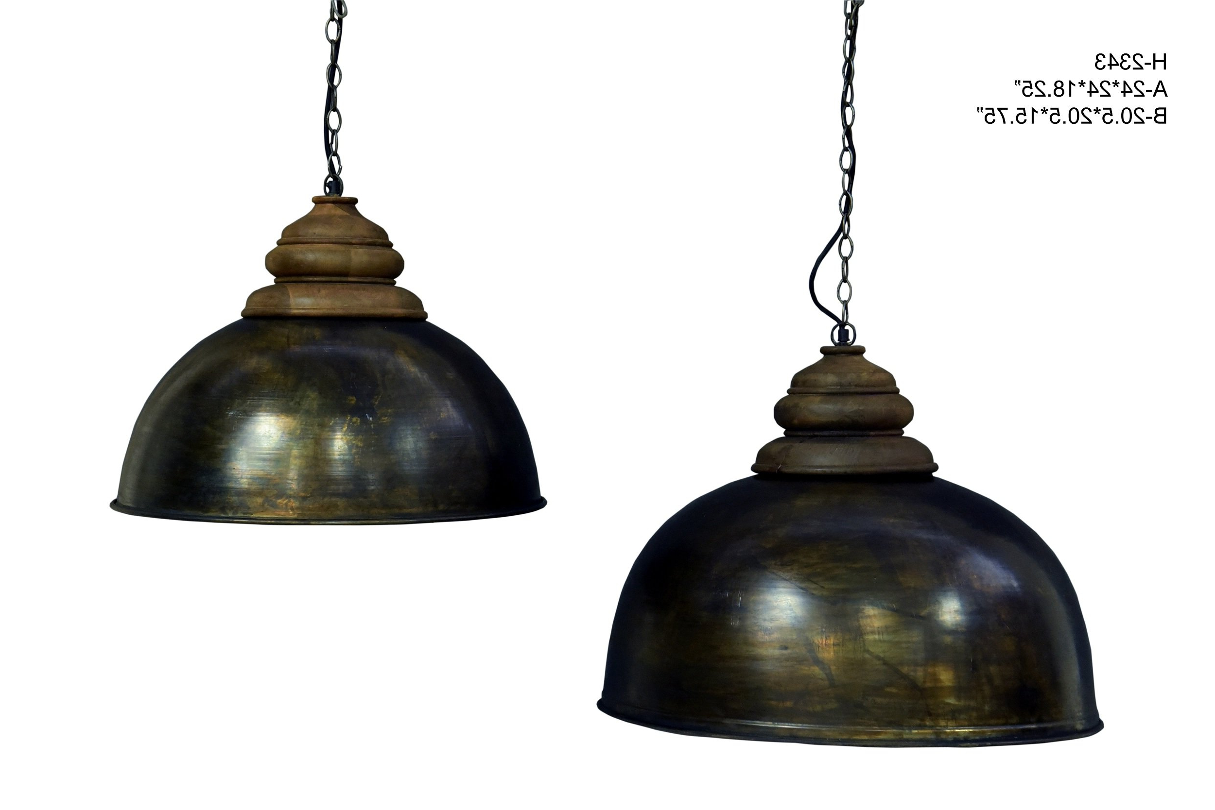 Pirro 1 Light Single Dome Pendant Within Most Popular Monadnock 1 Light Single Dome Pendants (View 14 of 20)