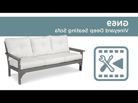 Polywood® Gn69 – Vineyard Deep Seating Sofa Assembly Video Within Most Recent Vineyard Deep Seating Sofas (View 7 of 20)