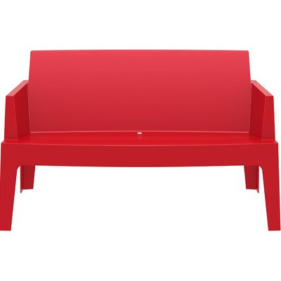 Popular Bence Plastic Outdoor Garden Benches Intended For Mercury Row Bence Plastic Outdoor Garden Bench (View 6 of 20)