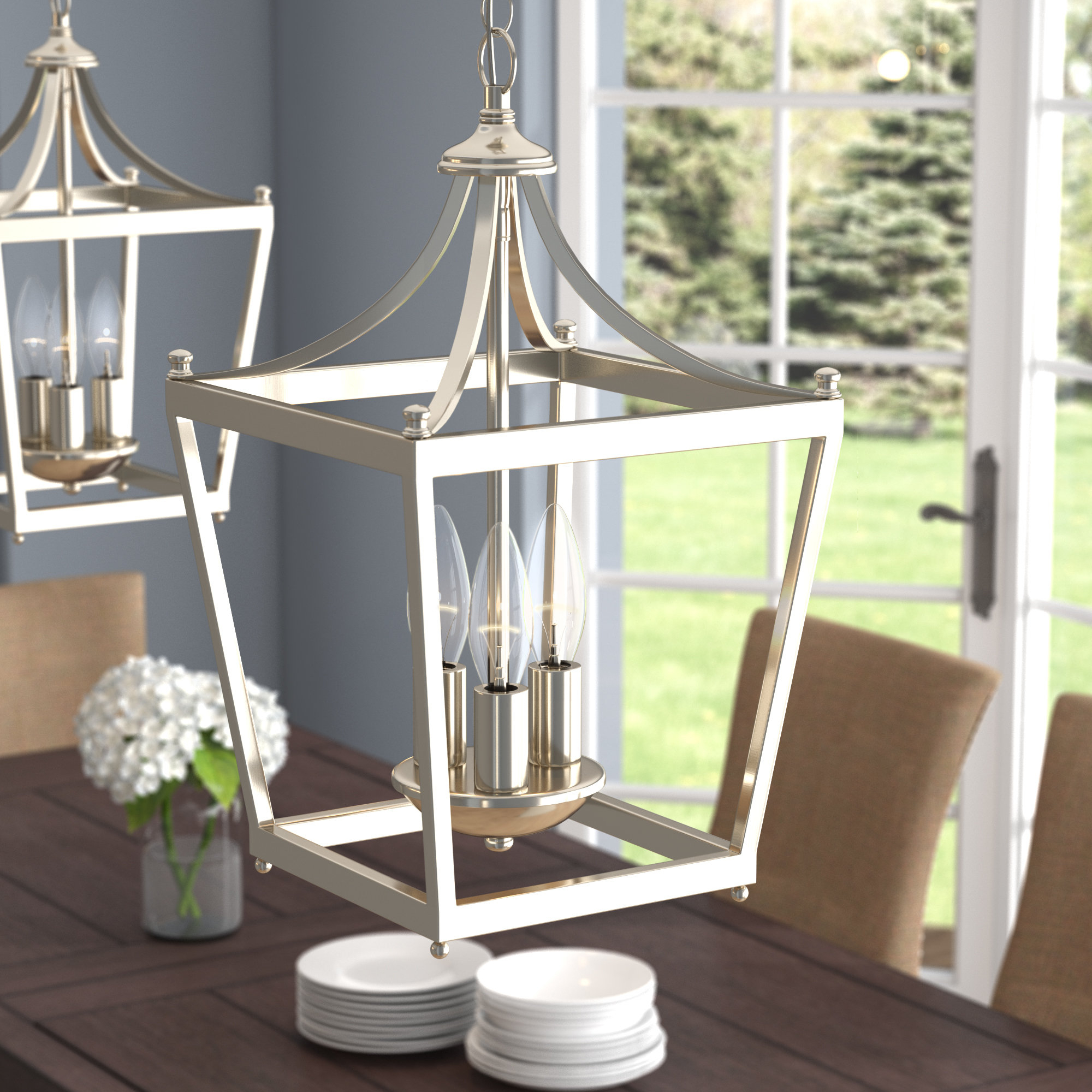 Popular Birch Lane™ Heritage Gabriella 3 Light Lantern Chandelier With Gabriella 3 Light Lantern Chandeliers (View 17 of 20)