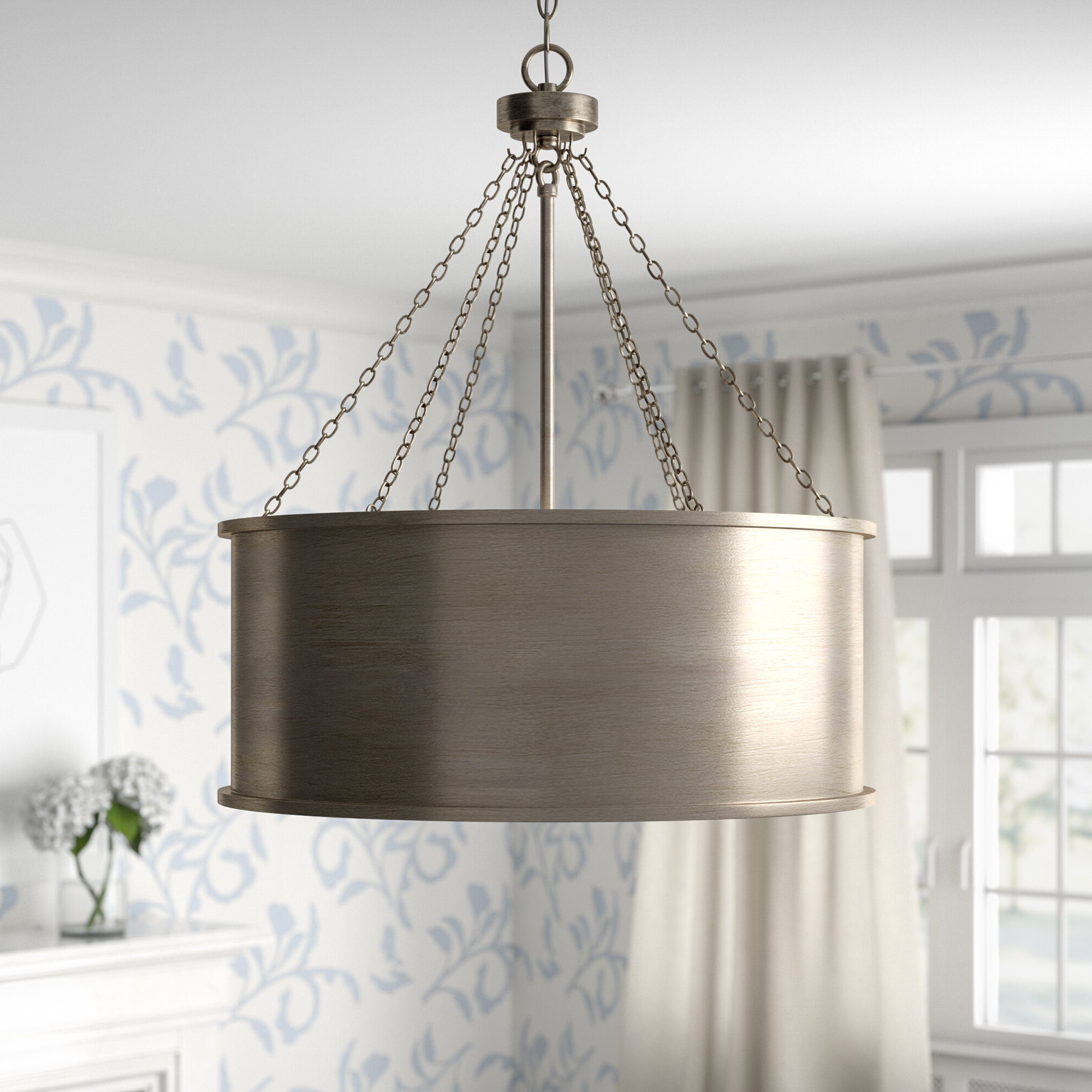 Popular Bowe 6 Light Pendant Inside Vincent 5 Light Drum Chandeliers (Gallery 11 of 20)