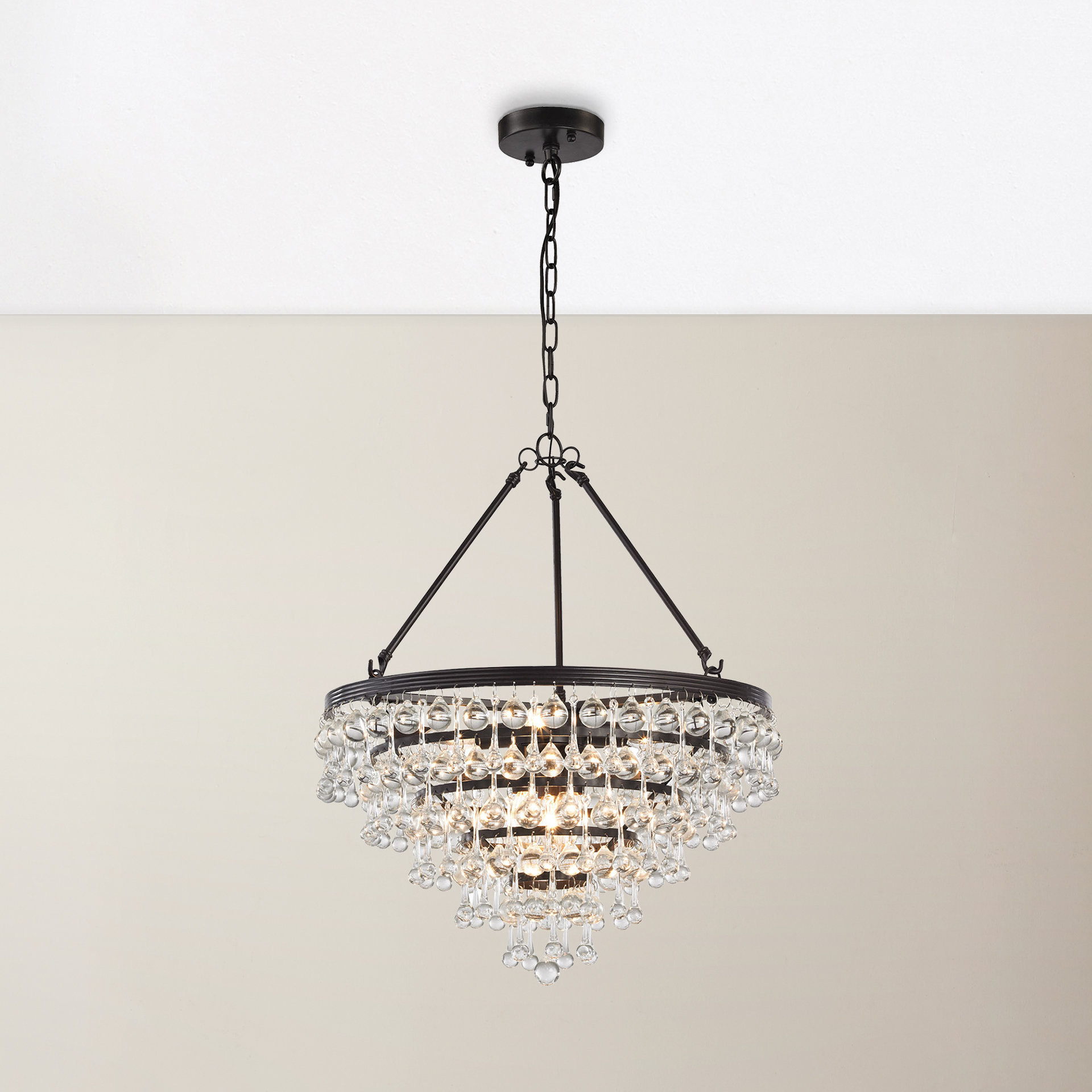 Popular Bramers 6 Light Novelty Chandeliers Within Prairie Grove 6 Light Chandelier (View 13 of 20)