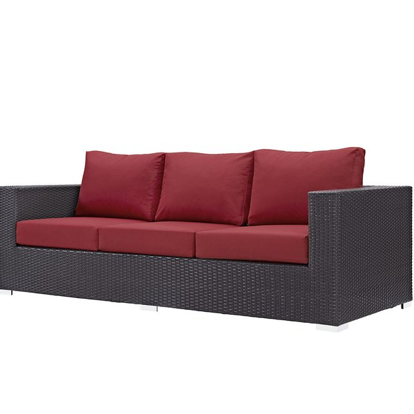 Popular Brentwood Patio Sofas With Cushions Pertaining To Brentwood Patio Sofa With Cushions (View 11 of 20)