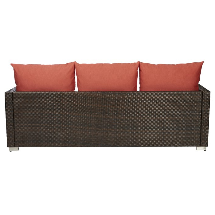 Popular Camak Patio Sofas With Cushions With Mcmanis Patio Sofa With Cushion (Gallery 10 of 20)