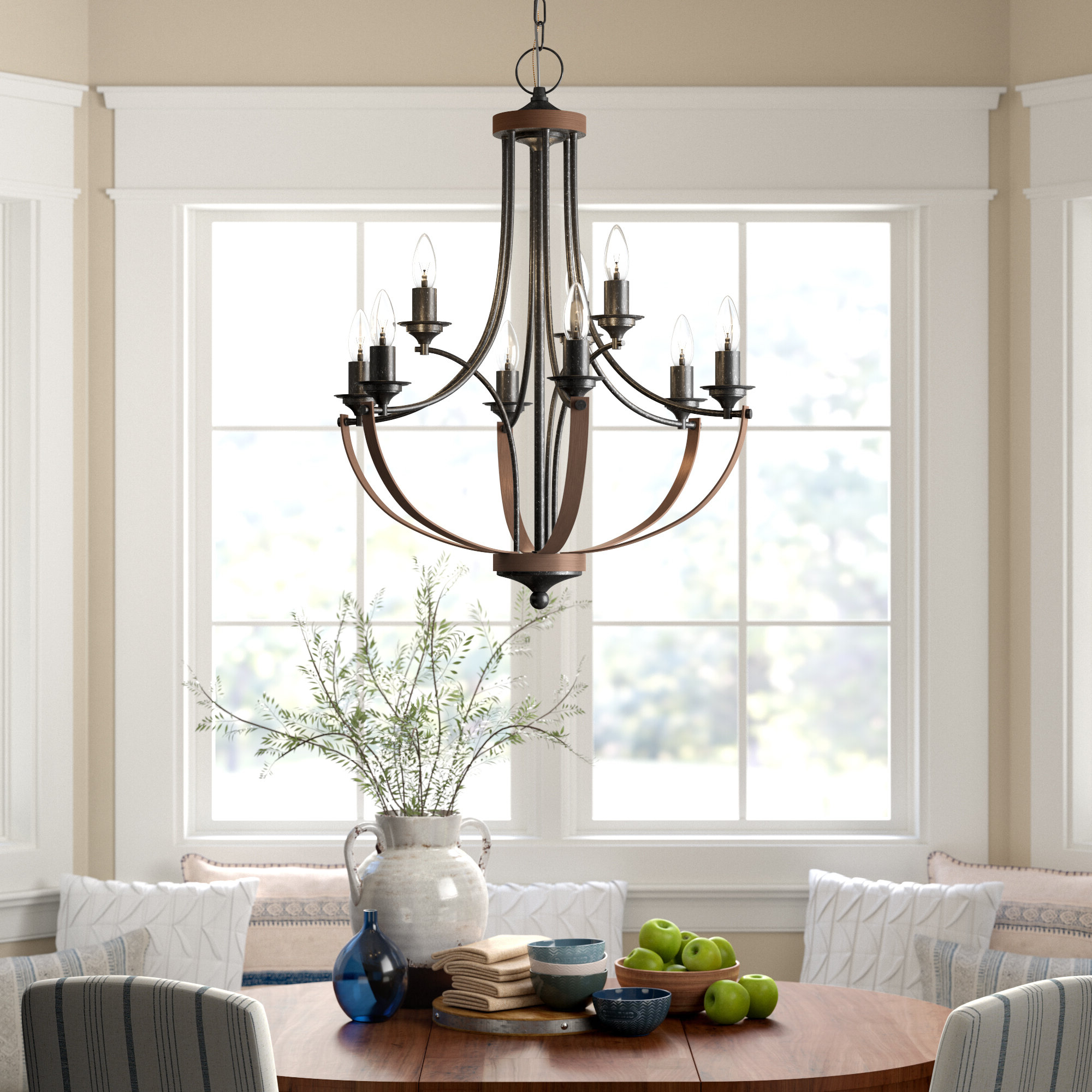 Popular Camilla 9 Light Candle Style Chandelier With Regard To Giverny 9 Light Candle Style Chandeliers (View 14 of 20)