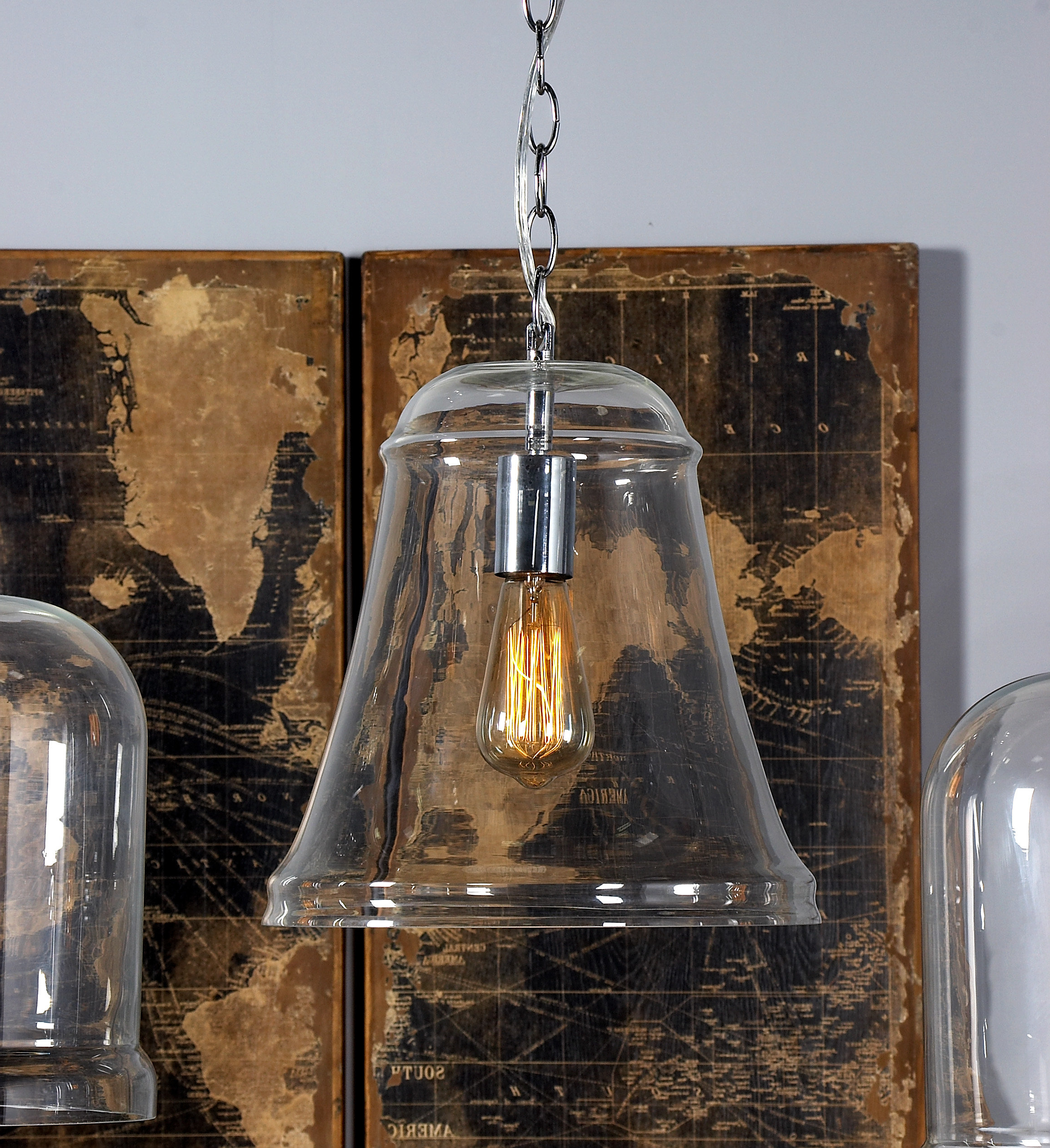 Popular Carpenter 1 Light Single Bell Pendant Regarding Sargent 1 Light Single Bell Pendants (Gallery 18 of 20)