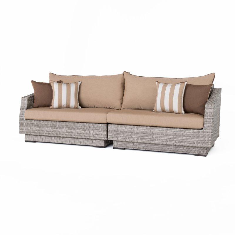 Popular Castelli Patio Sofas With Sunbrella Cushions Intended For Castelli Patio Sofa With Sunbrella Cushions (View 15 of 20)