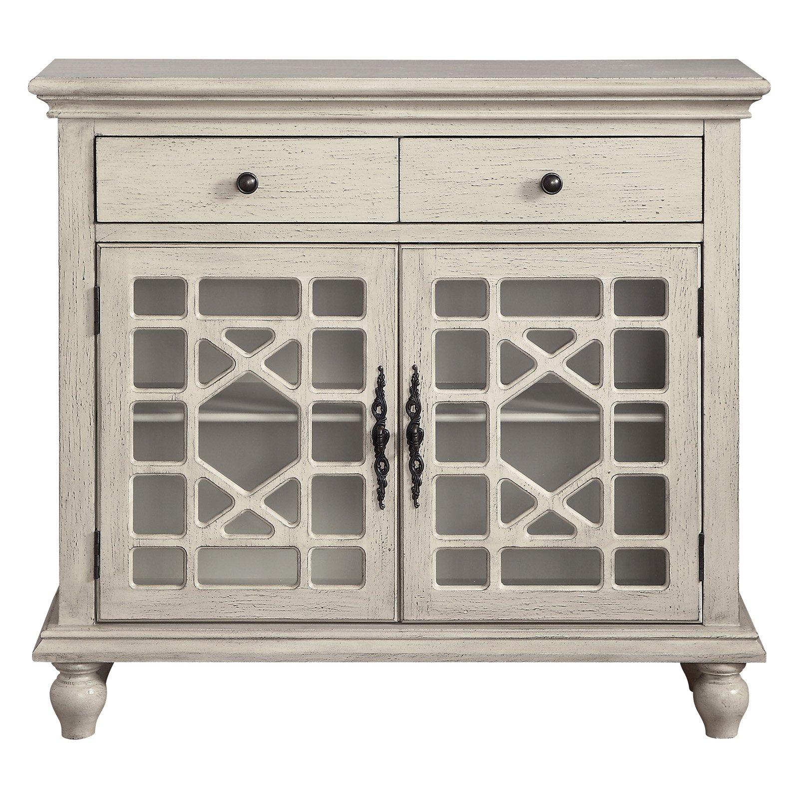 Popular Coast To Coast 2 Drawer 2 Door Cabinet (View 13 of 20)