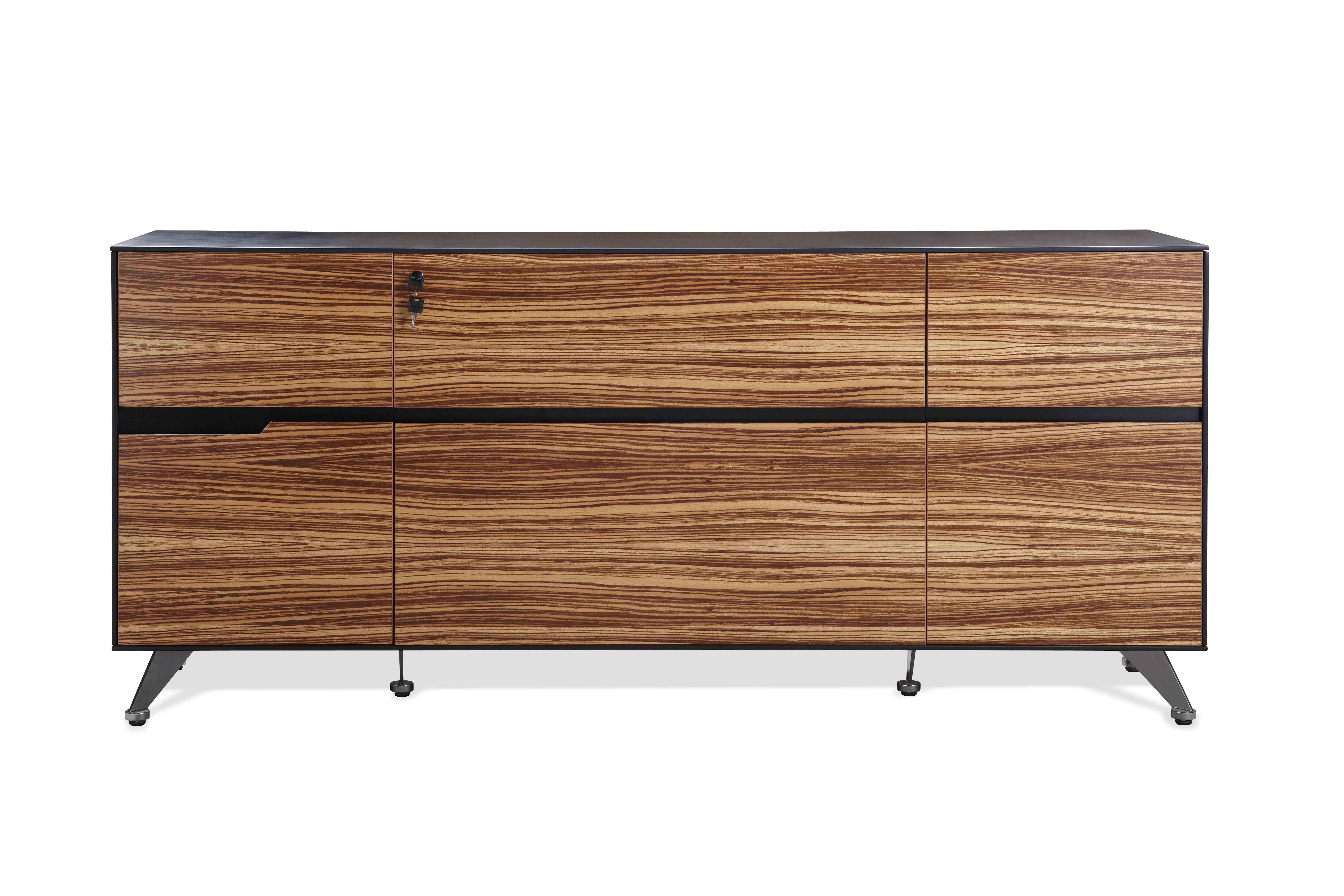 Popular Comm Office Waldrup Executive Storage Sideboard Regarding Casolino Sideboards (Gallery 10 of 20)