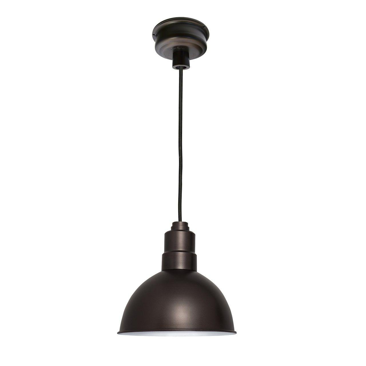 "Popular Conover 1 Light Dome Pendants In 10"" Blackspot Led Pendant Light In Mahogany Bronze In  (View 15 of 20)"
