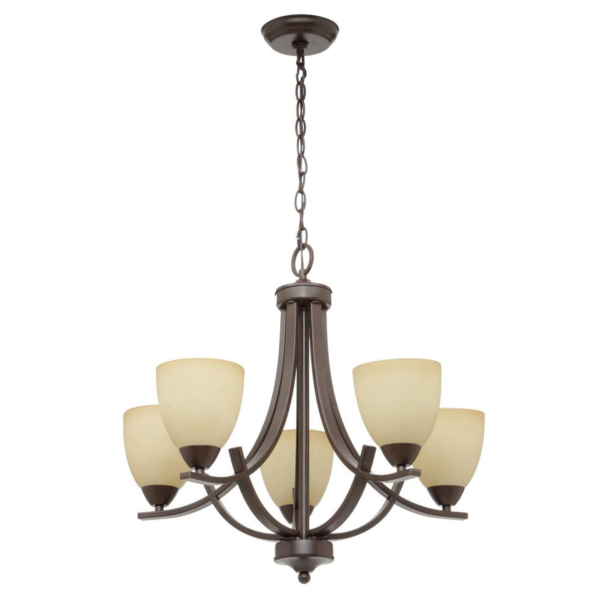 Popular Crofoot 5 Light Shaded Chandelier For Suki 5 Light Shaded Chandeliers (Gallery 9 of 20)