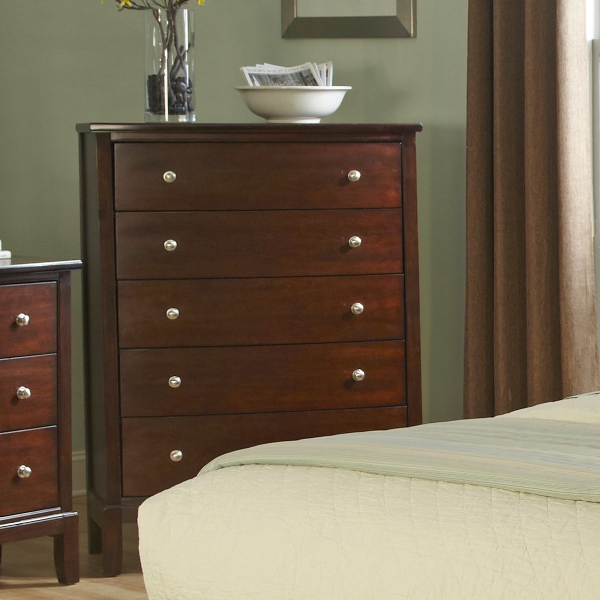 Popular Details About Wildon Home® Denver 5 Drawer Chest Throughout Sideboards By Wildon Home (Gallery 10 of 20)