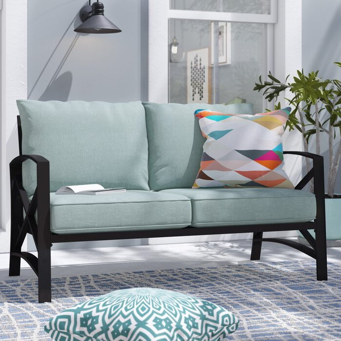 Popular Freitag Loveseats With Cushions In Freitag Loveseat With Cushions (Gallery 7 of 20)
