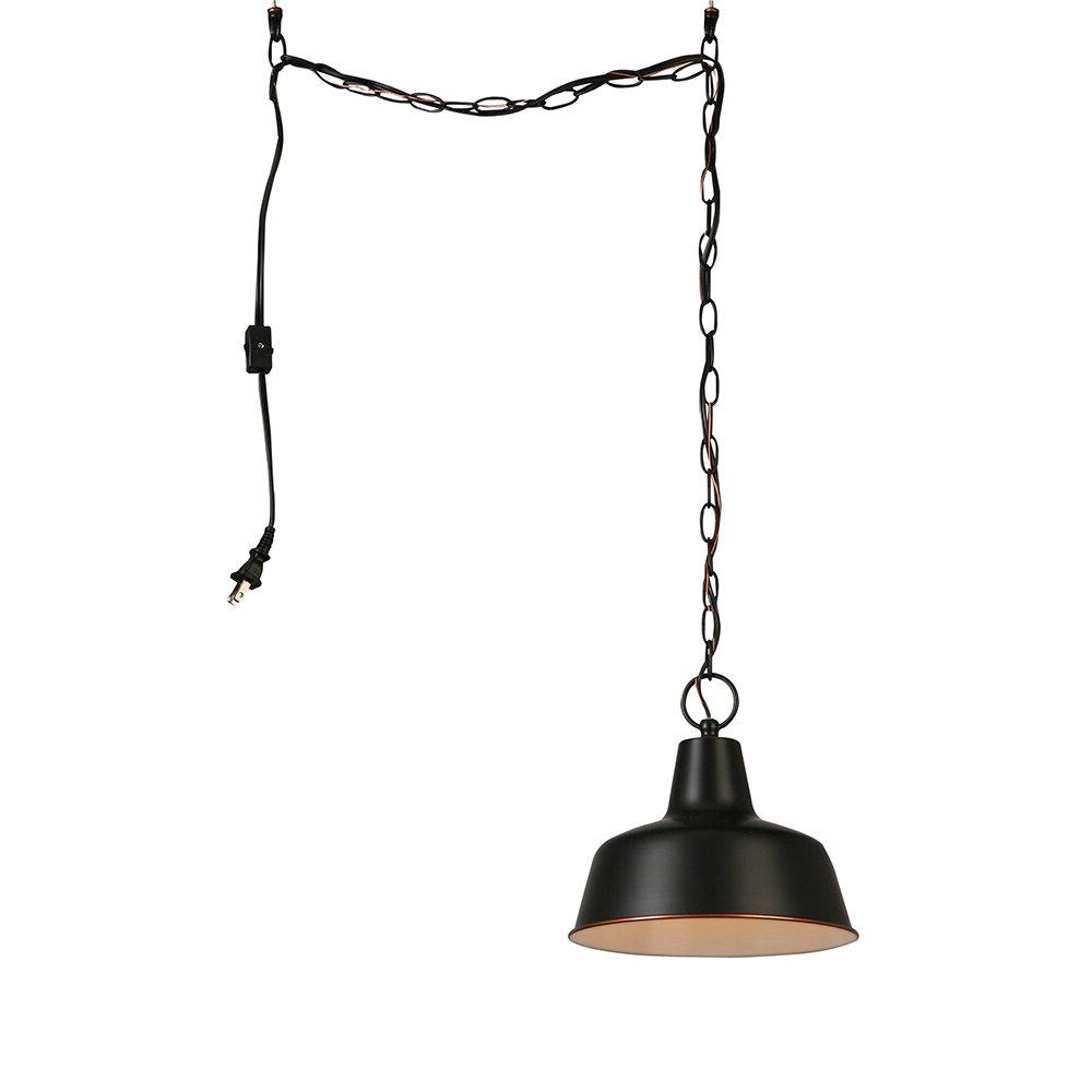 Popular Grullon Scroll 1 Light Single Bell Pendants For Christine 1 Light Dome Pendant (View 19 of 20)