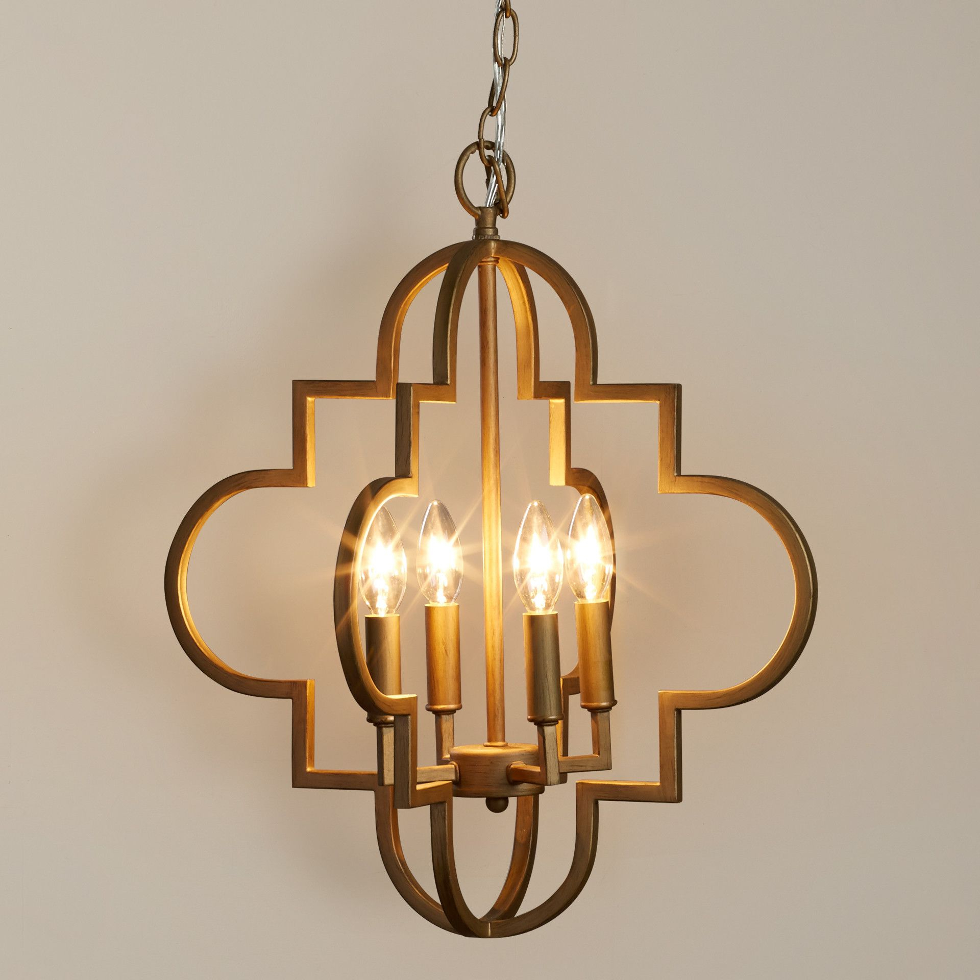 Popular House Of Hampton Aldridge 4 Light Pendant & Reviews Within Kaycee 4 Light Geometric Chandeliers (Gallery 16 of 20)