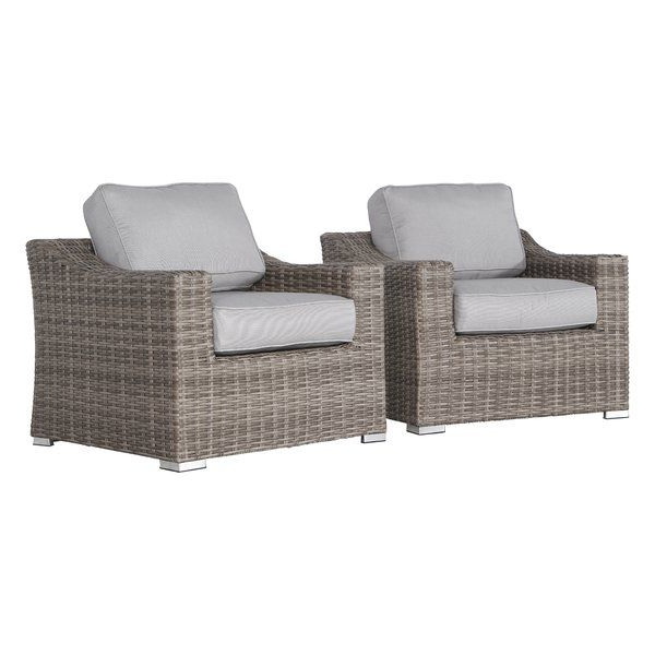 Popular Huddleson Patio Chair With Cushions (Gallery 10 of 20)
