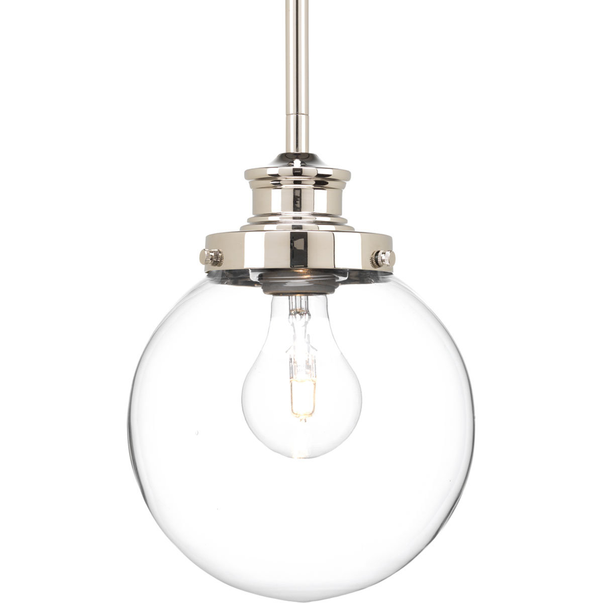 Popular Irwin 1 Light Single Globe Pendants Throughout Zipcode Design Cayden 1 Light Single Globe Pendant (View 16 of 20)