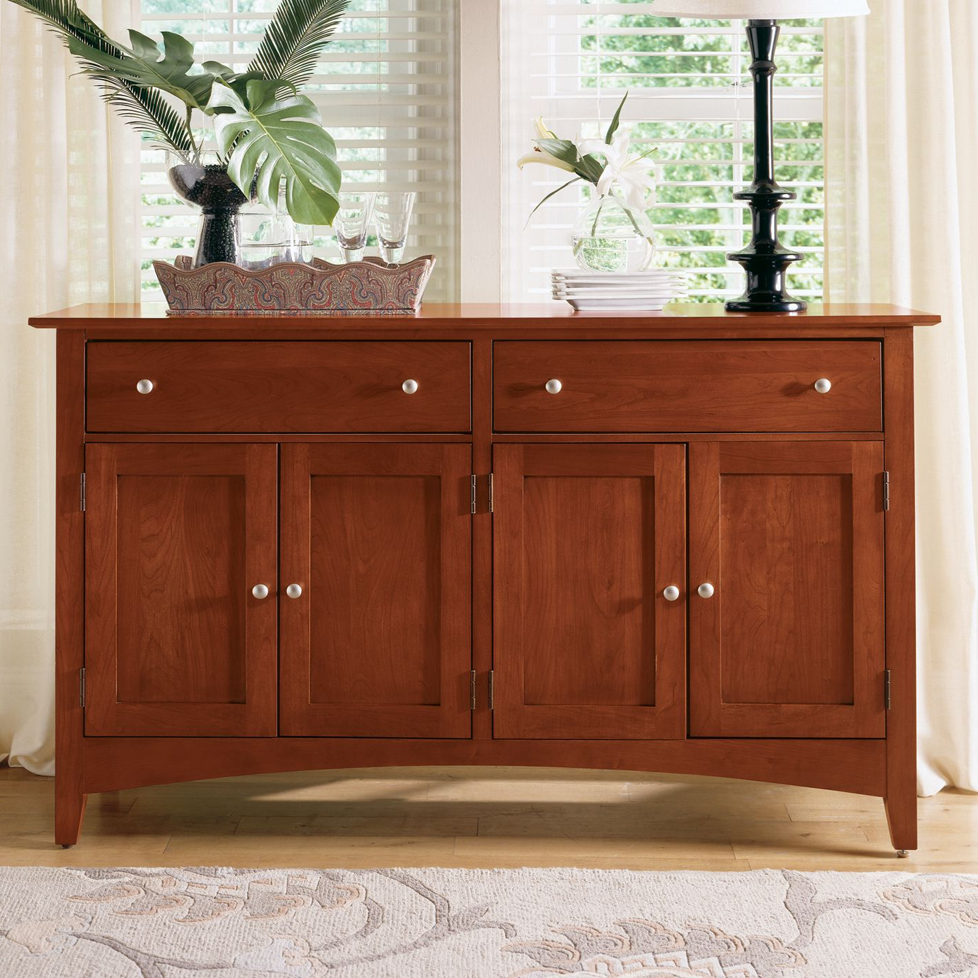 Popular Kincaid Furniture 43 090 Gathering House Sideboard, Satin With Nashoba Sideboards (View 19 of 20)