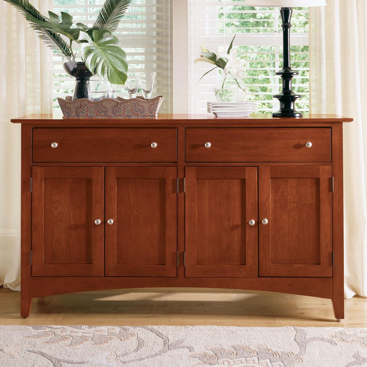 Popular Kincaid Furniture 43 090 Gathering House Sideboard, Satin With Nashoba Sideboards (View 17 of 20)
