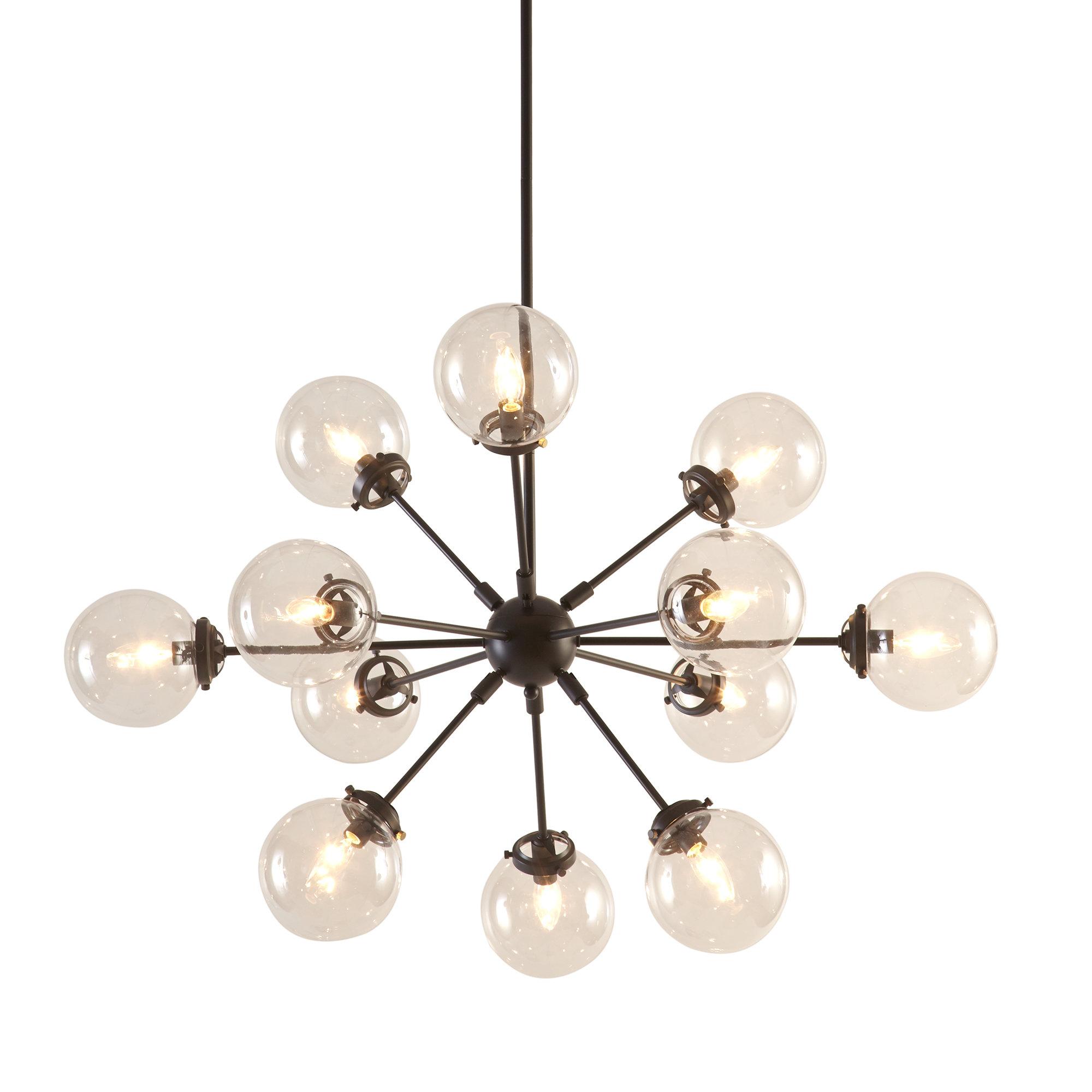 Popular Langley Street Benites 12 Light Sputnik Chandelier Regarding Bacchus 12 Light Sputnik Chandeliers (View 14 of 20)