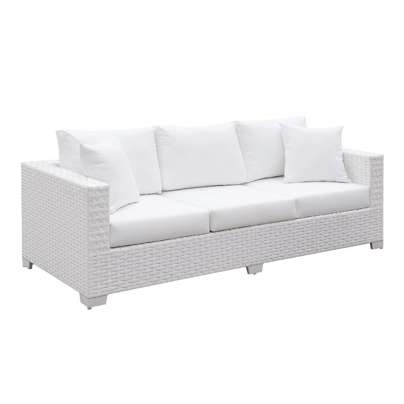 Popular Mullenax Outdoor Loveseats With Cushions With Kuhn Sofa With Cushion (View 17 of 20)