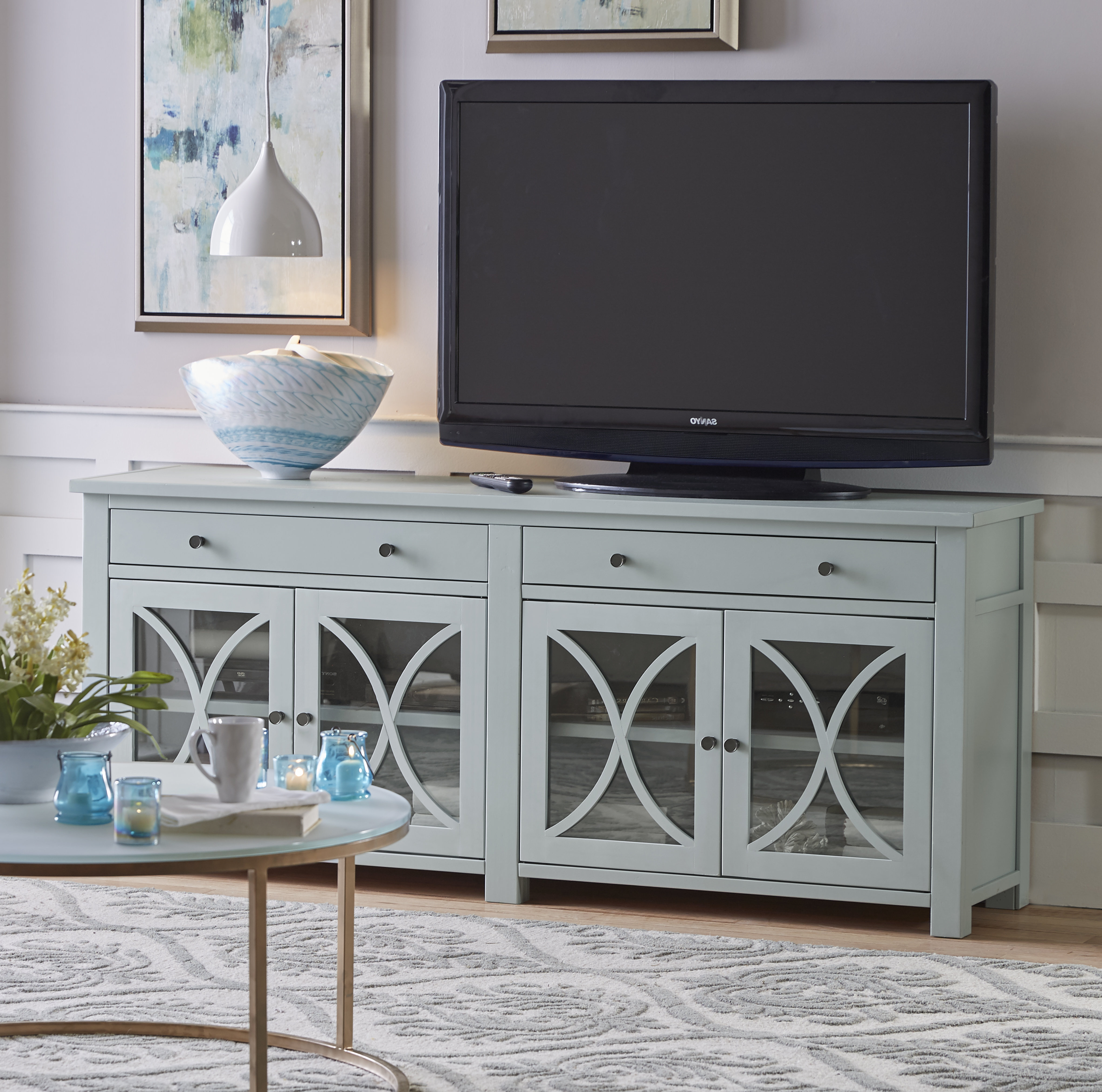 "Popular Parmelee Tv Stands For Tvs Up To 65"" Regarding Newburgh Tv Stand For Tvs Up To 60"" (Gallery 4 of 20)"