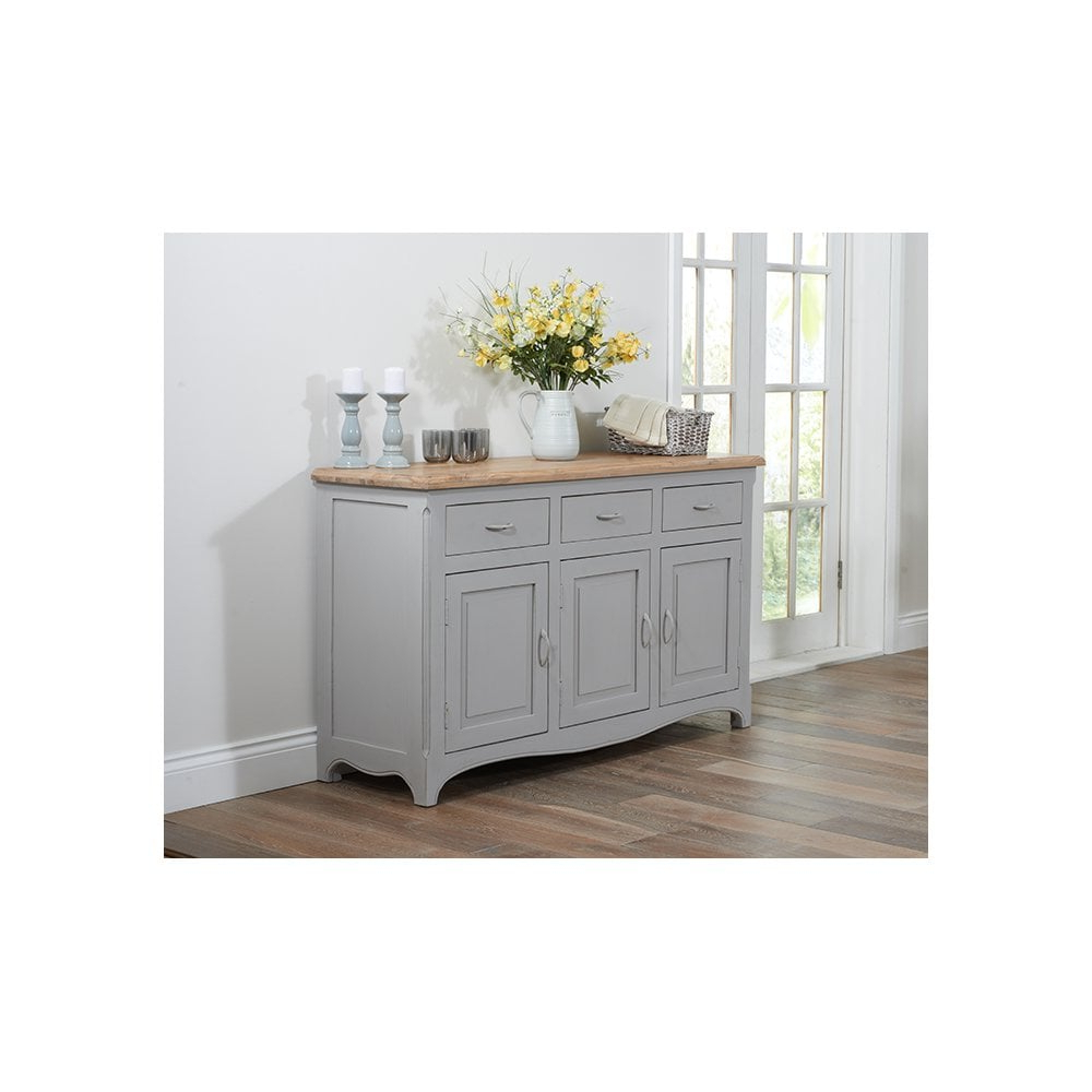 Popular Sienna Sideboards Pertaining To Sienna Oak And Grey Sideboard (View 14 of 20)