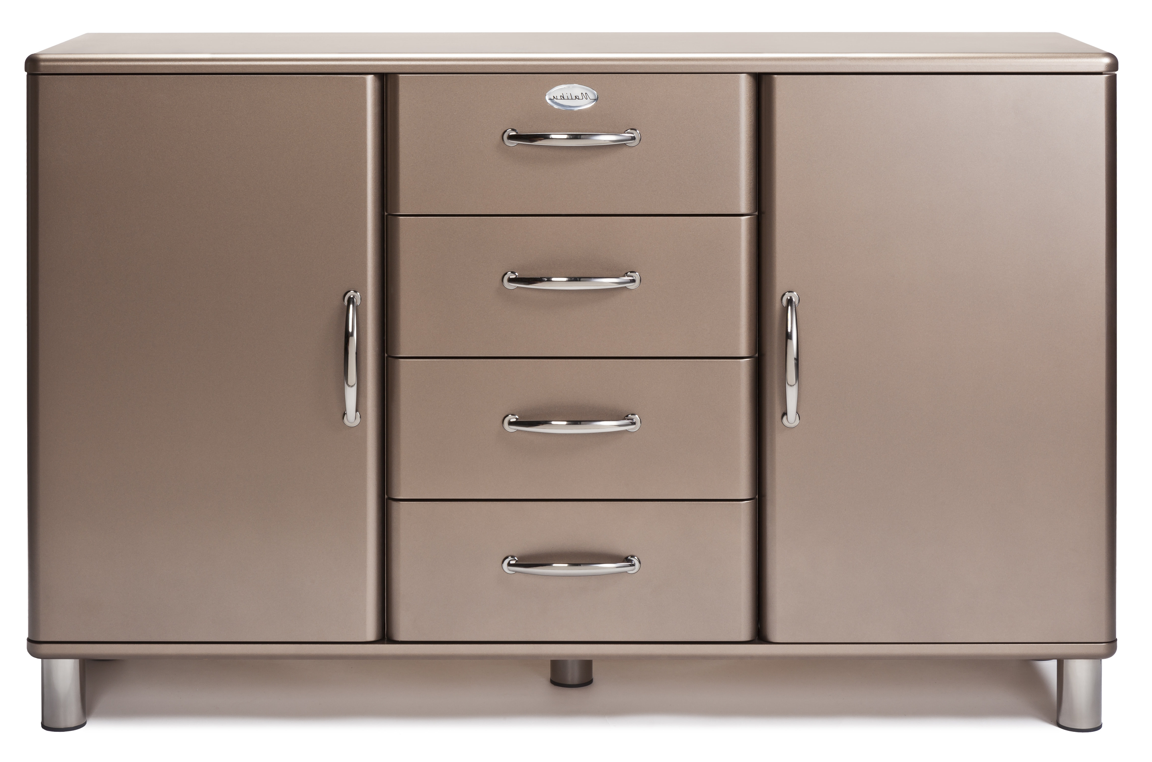Popular Tenzo Malibu Deluxe 2 Door 4 Drawer Sideboard With Malibu 2 Door 4 Drawer Sideboards (View 16 of 20)