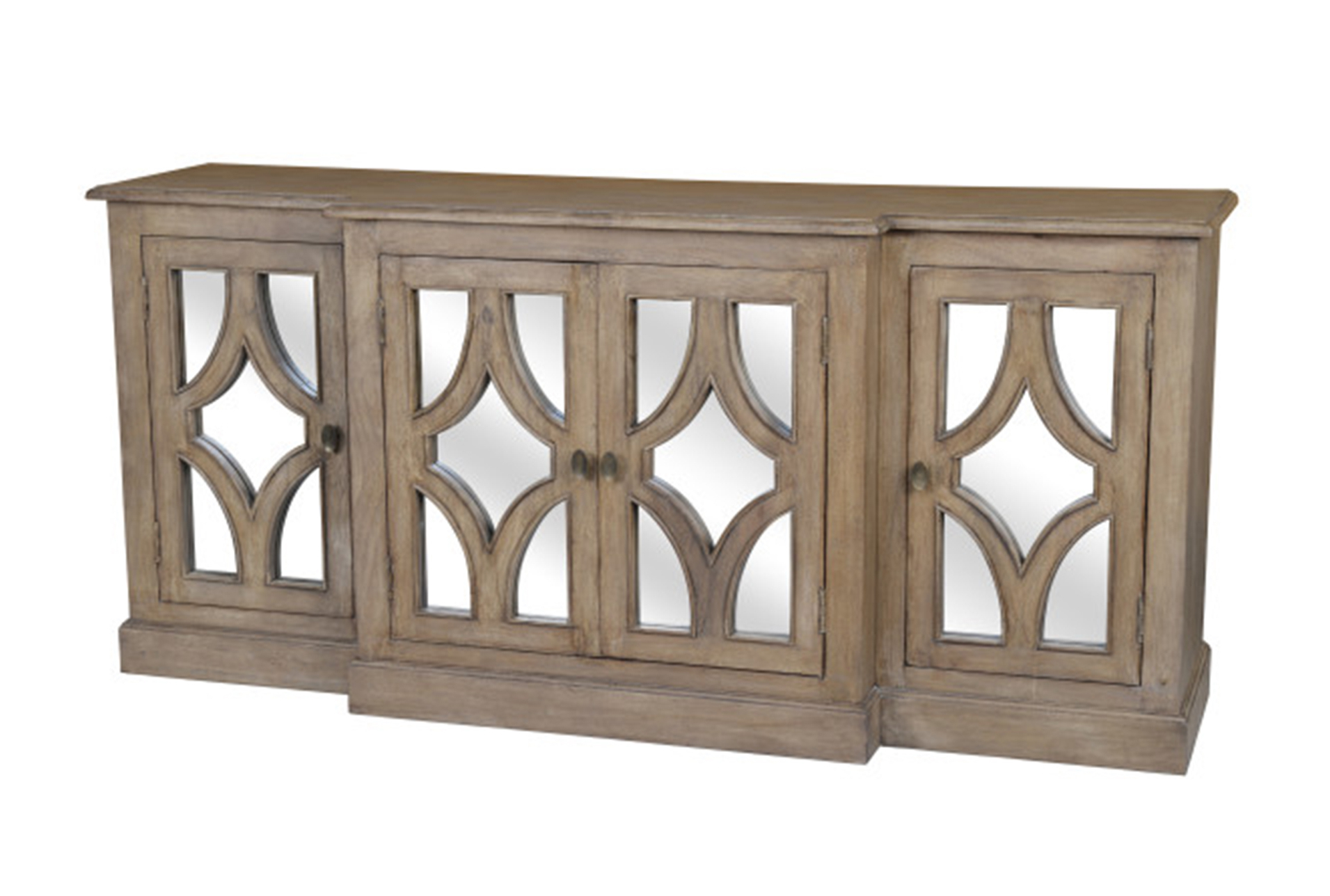 Popular Tott And Eling Sideboards For Acacia Wood 4 Door Sideboard (Gallery 17 of 20)