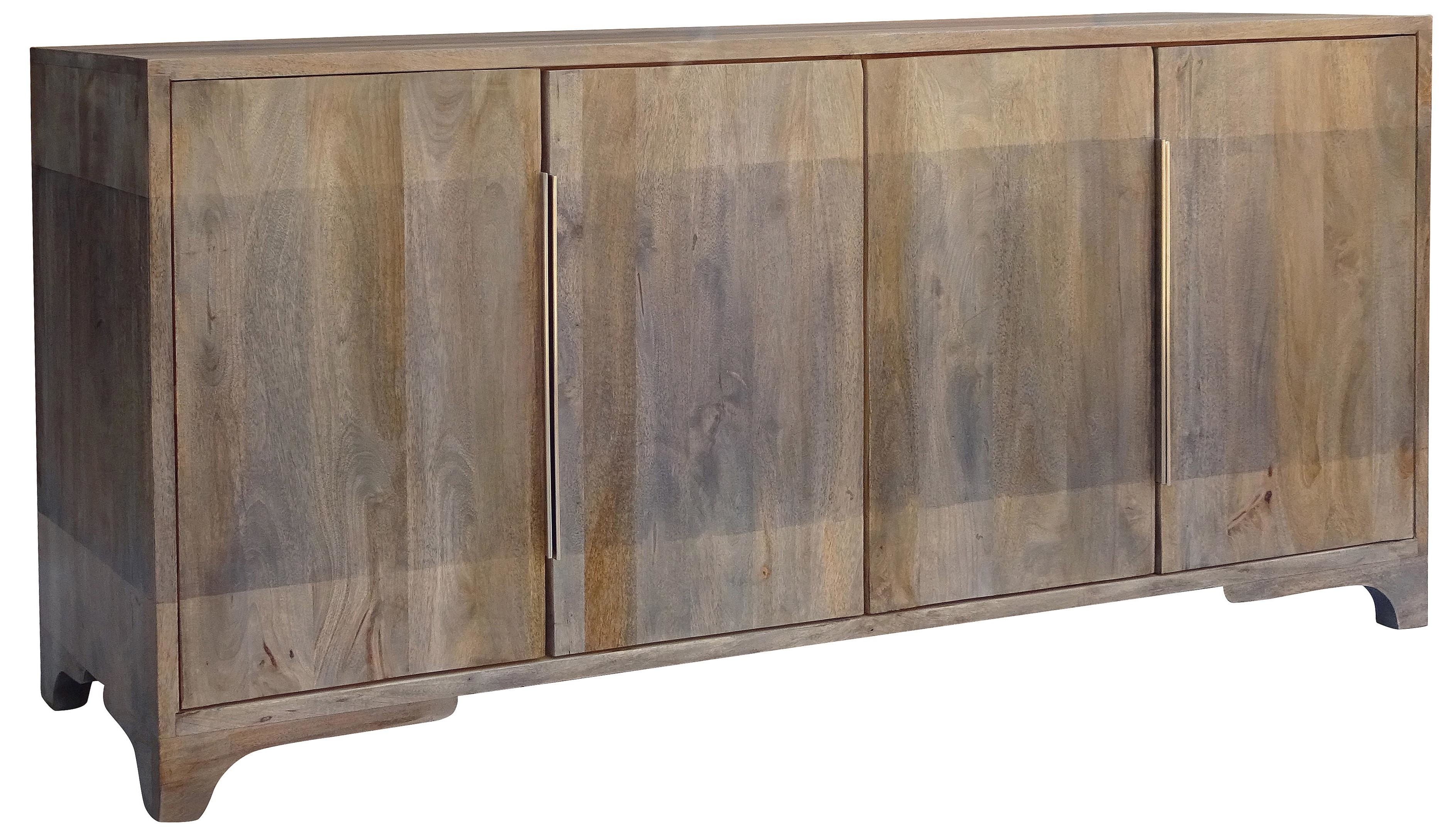 Popular Trent Austin Design Nia Sideboard Throughout Steinhatchee Reclaimed Pine 4 Door Sideboards (View 10 of 20)