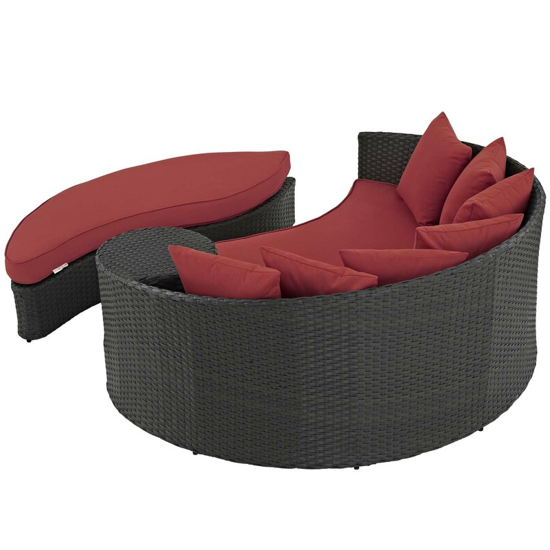 Popular Tripp Patio Daybeds With Cushions In Tripp Patio Daybed With Cushions (Gallery 13 of 20)