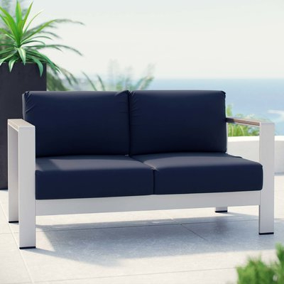 Popular Wade Logan Bristol Loveseat With Cushions (View 19 of 20)