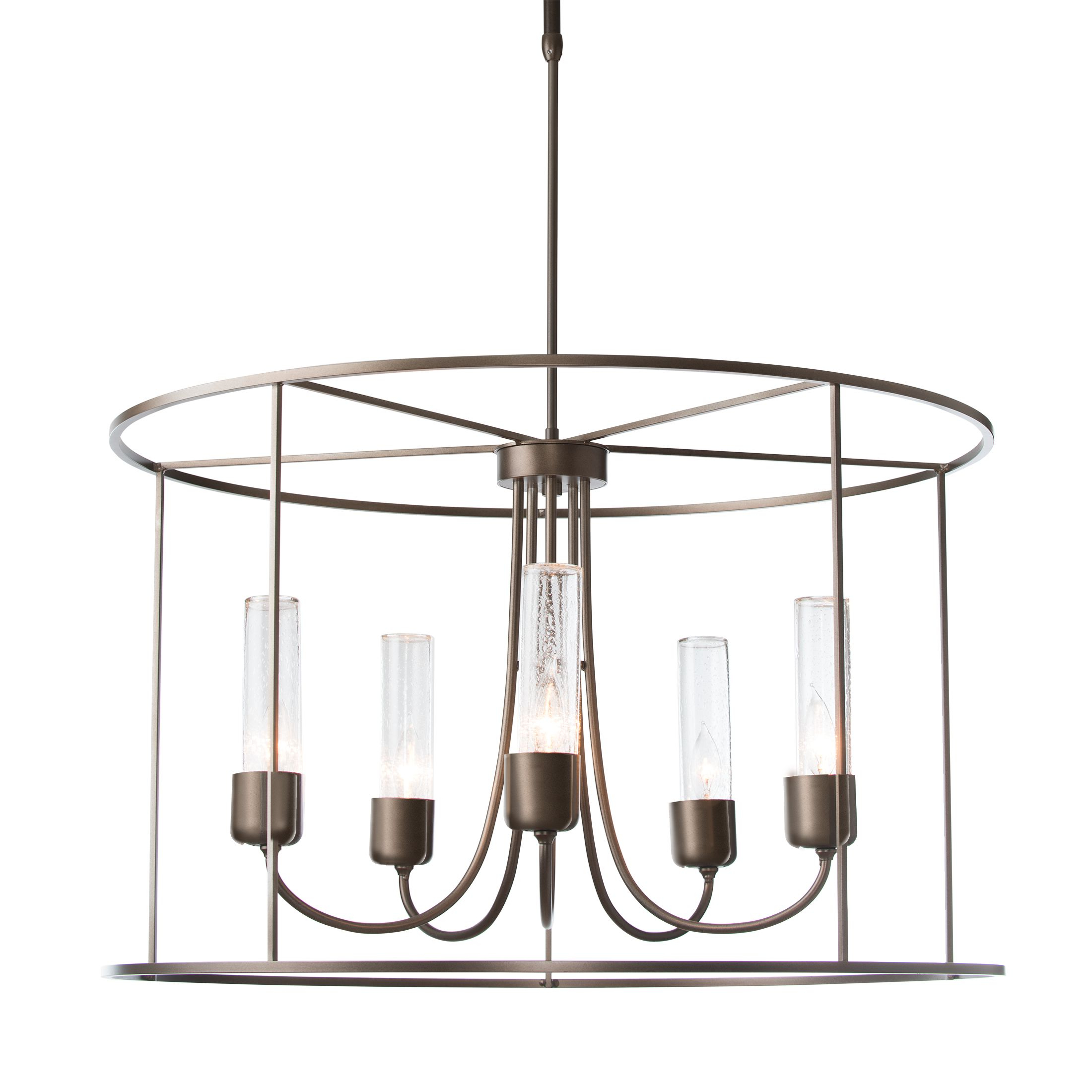 Portico Drum Outdoor Pendant – Hubbardton Forge Throughout Current Vincent 5 Light Drum Chandeliers (View 11 of 20)