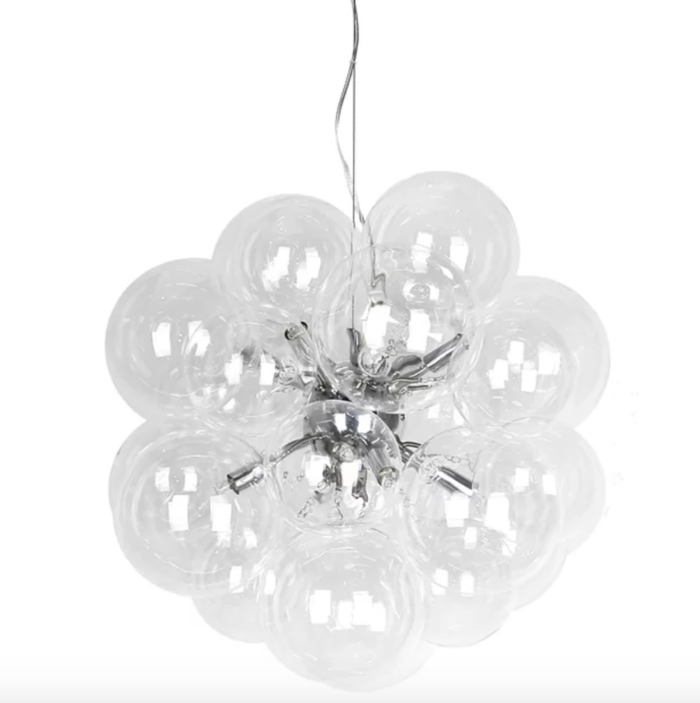 Pottery Barn Lighting Look Alikes For Less! — Trubuild Intended For Current Hamza 6 Light Candle Style Chandeliers (View 17 of 20)