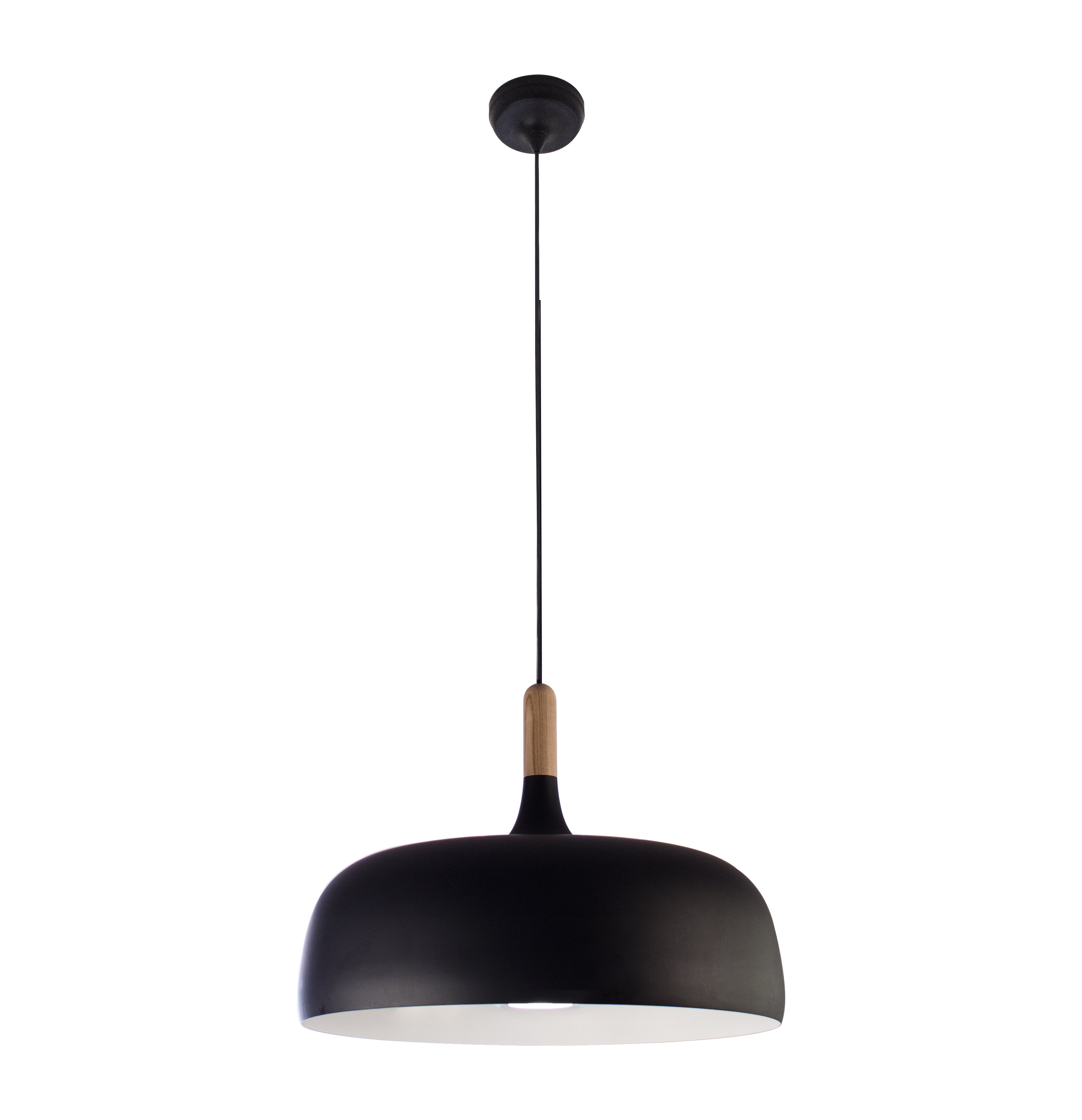 Poynter 1 Light Single Cylinder Pendants With Best And Newest Ivy Bronx Ryker 1 Light Bowl Pendant (View 12 of 20)